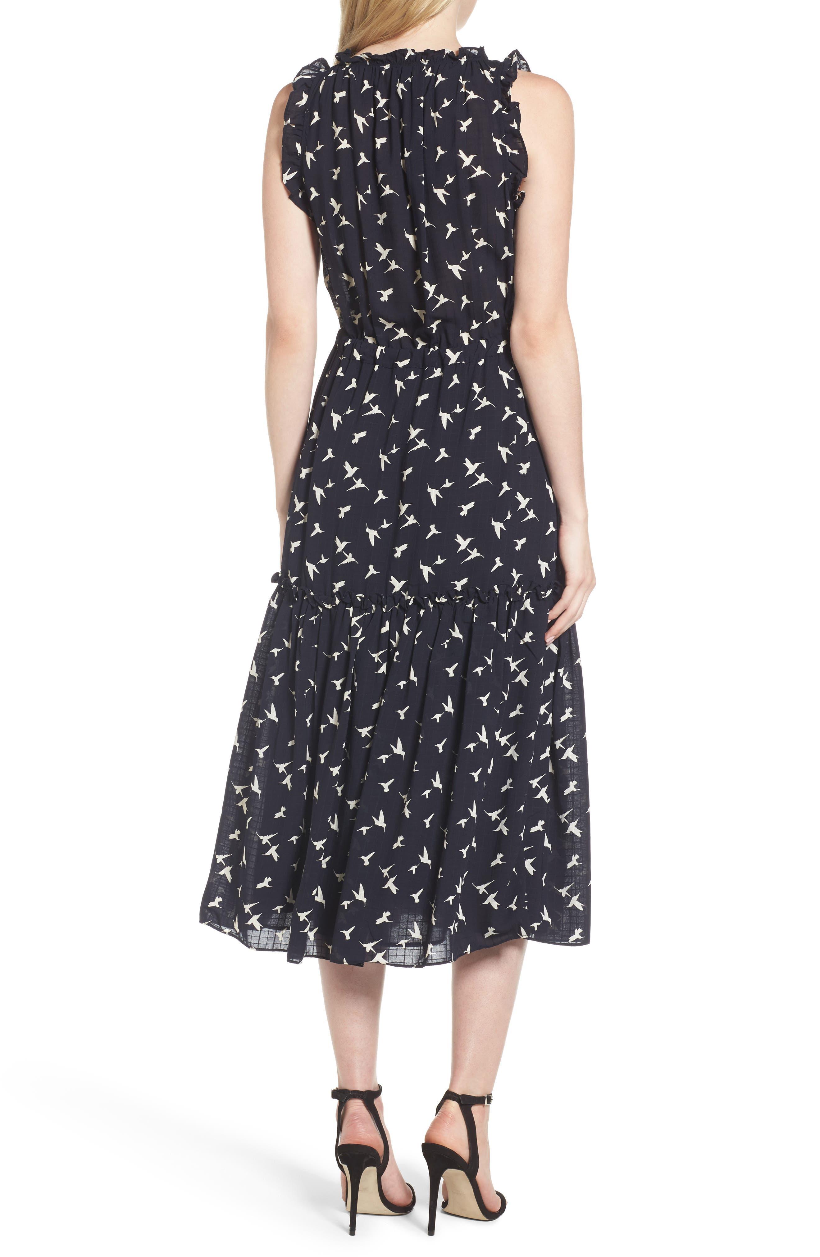 Martina Midi Dress,                             Alternate thumbnail 2, color,                             410