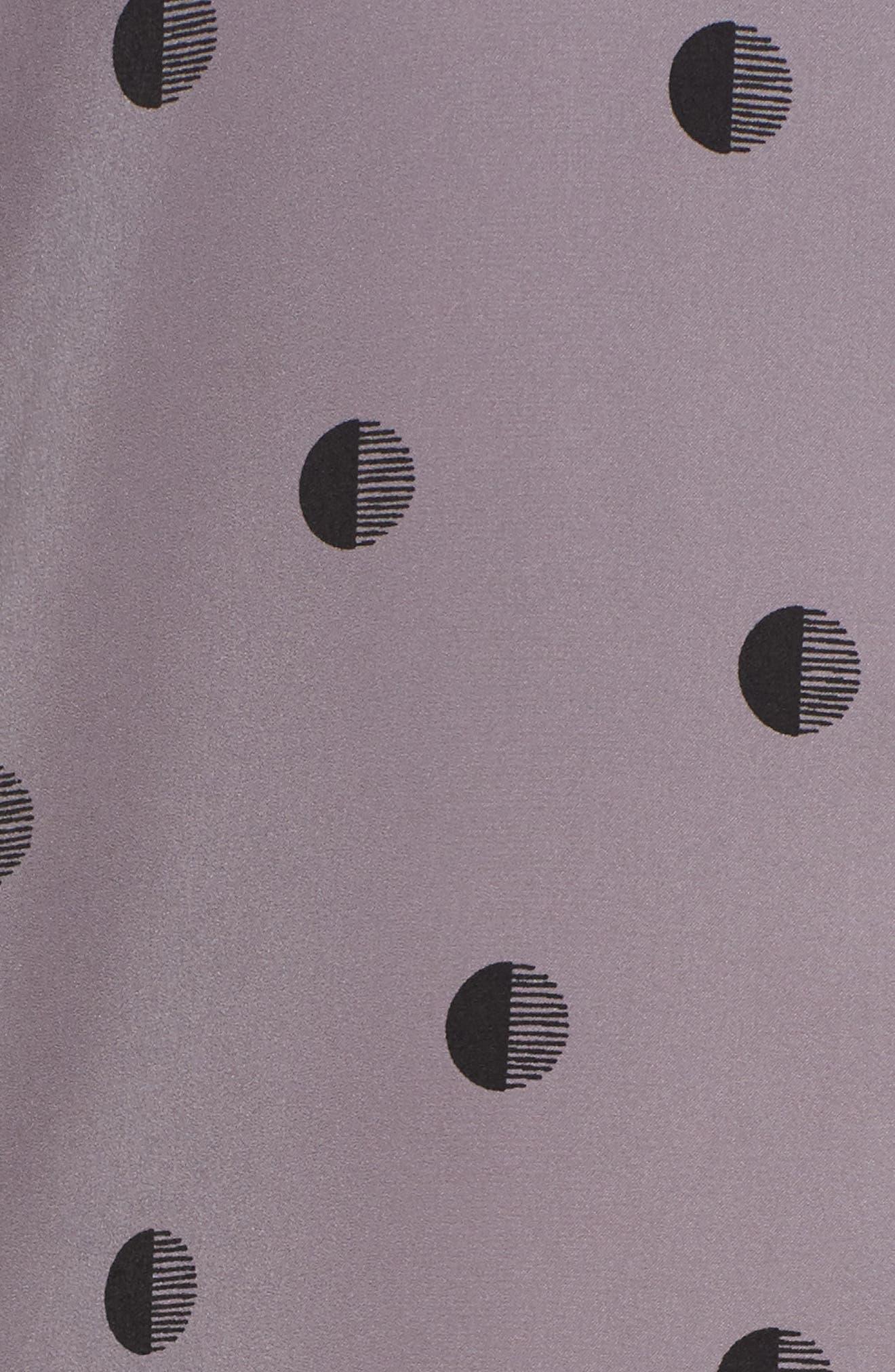 Washed Satin Sleep Shirt,                             Alternate thumbnail 5, color,                             067