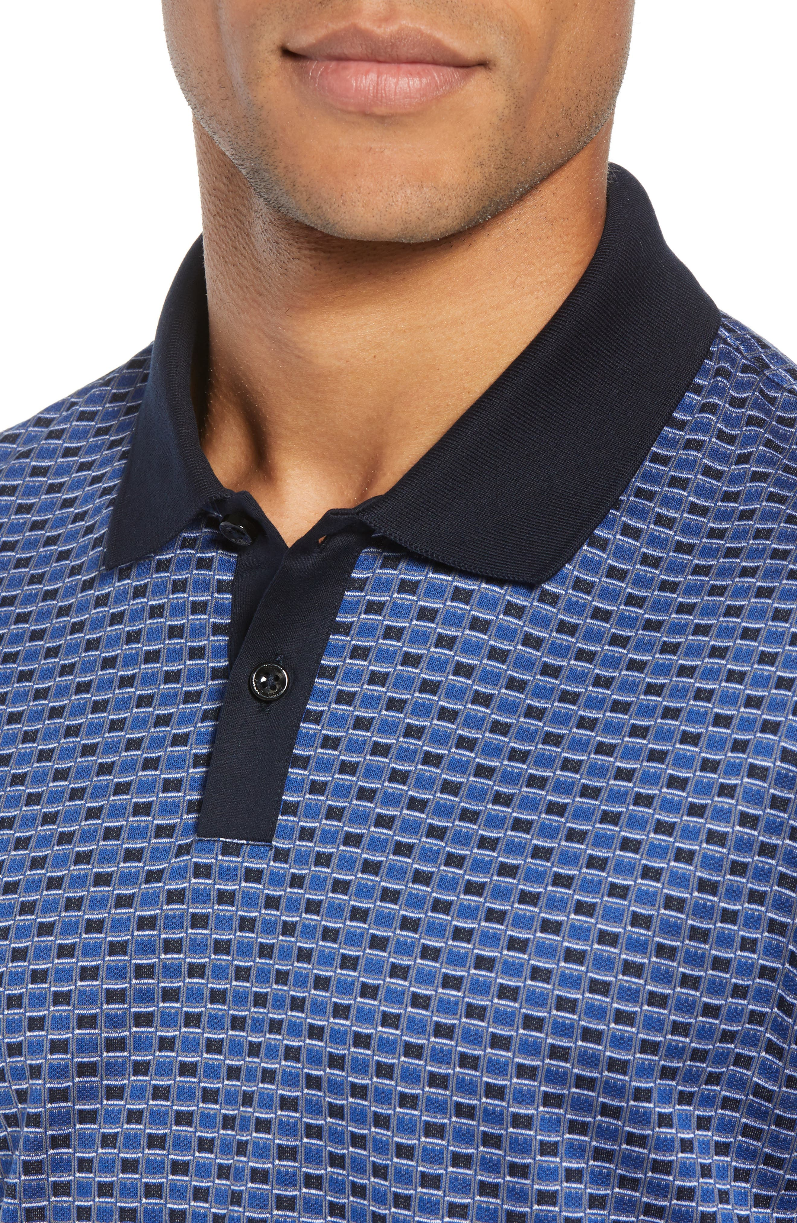 Parlay Regular Fit Polo,                             Alternate thumbnail 4, color,                             BLUE