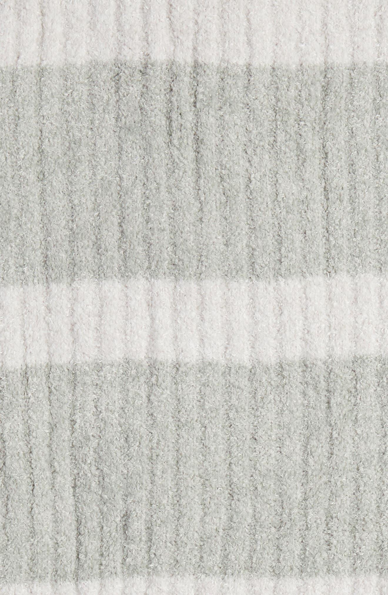 CozyChic Lite<sup>®</sup> Stripe Throw Blanket,                             Alternate thumbnail 2, color,                             SEAFOAM GREEN-PEARL COMBO