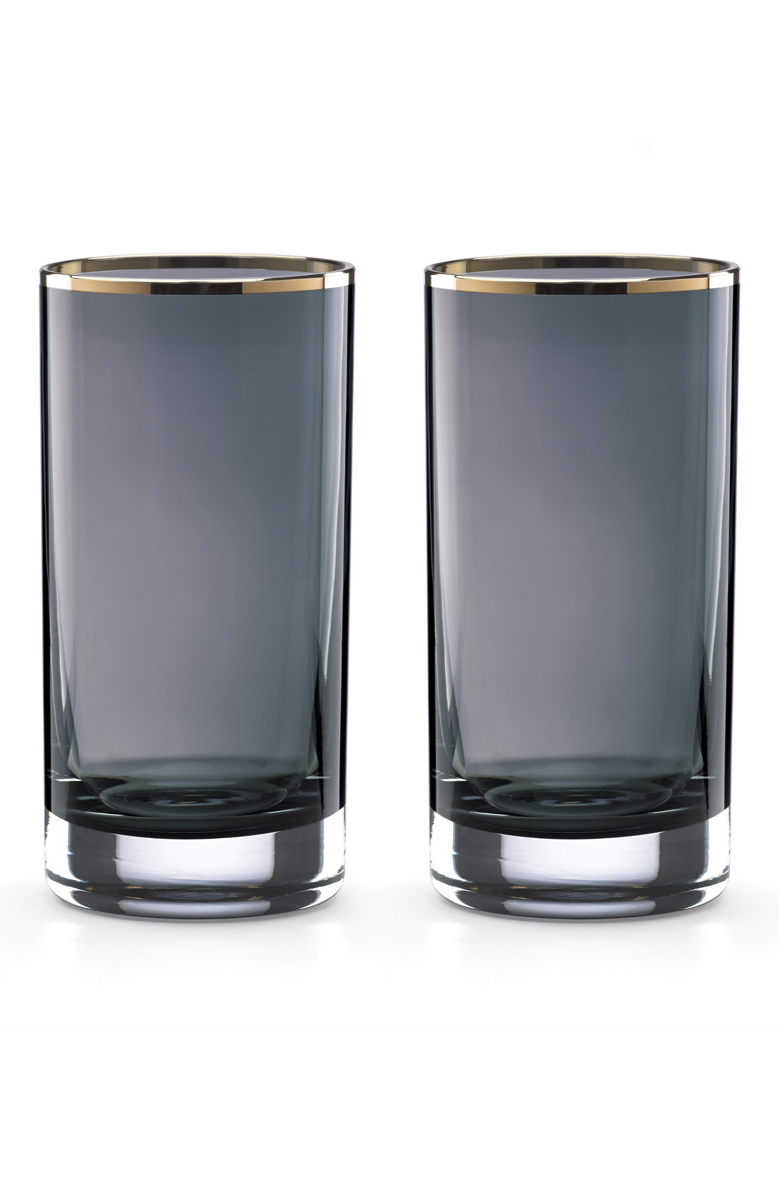 set of 2 highball glasses,                             Main thumbnail 1, color,                             400