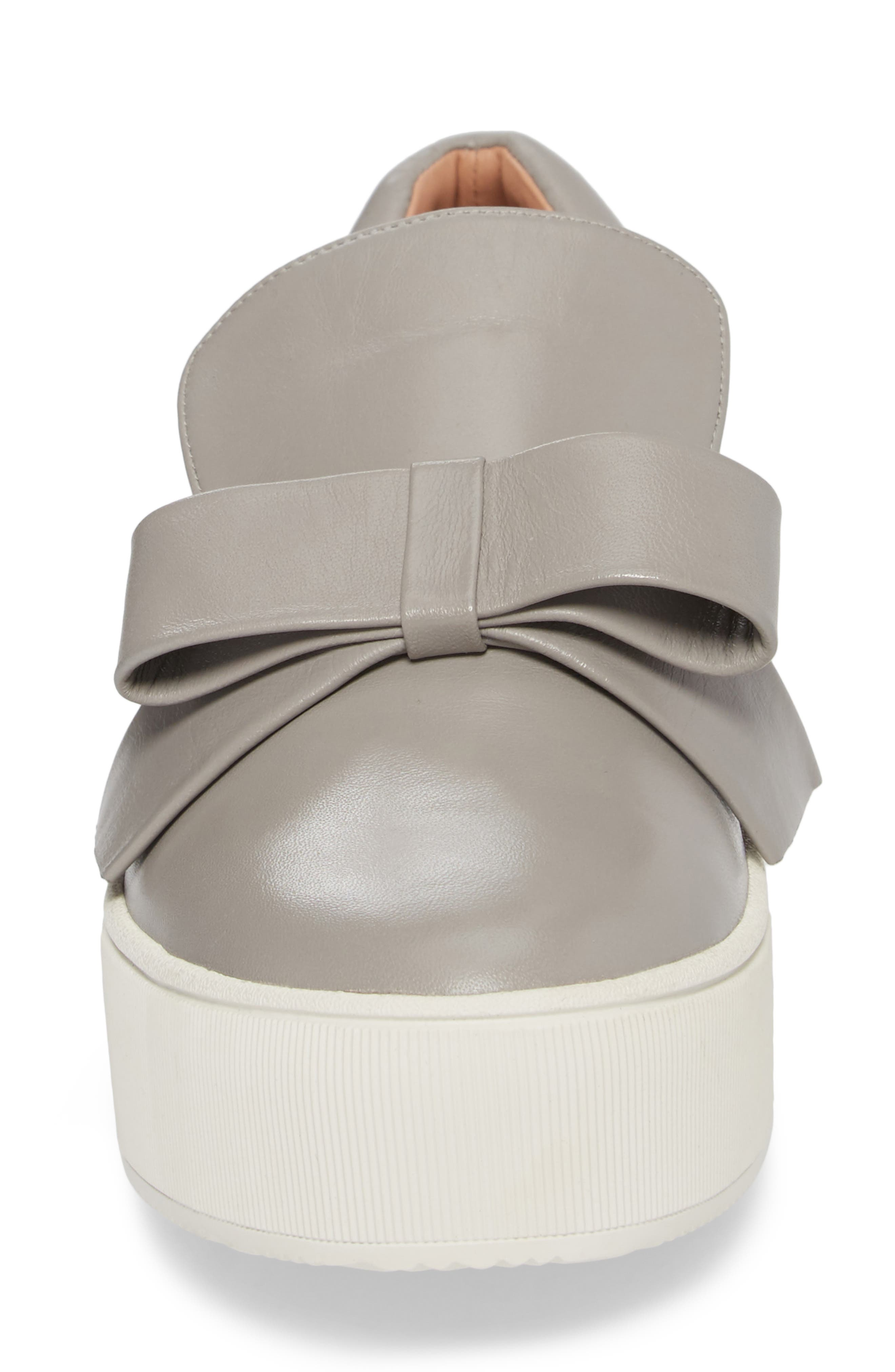 Vania Bow Platform Sneaker,                             Alternate thumbnail 8, color,