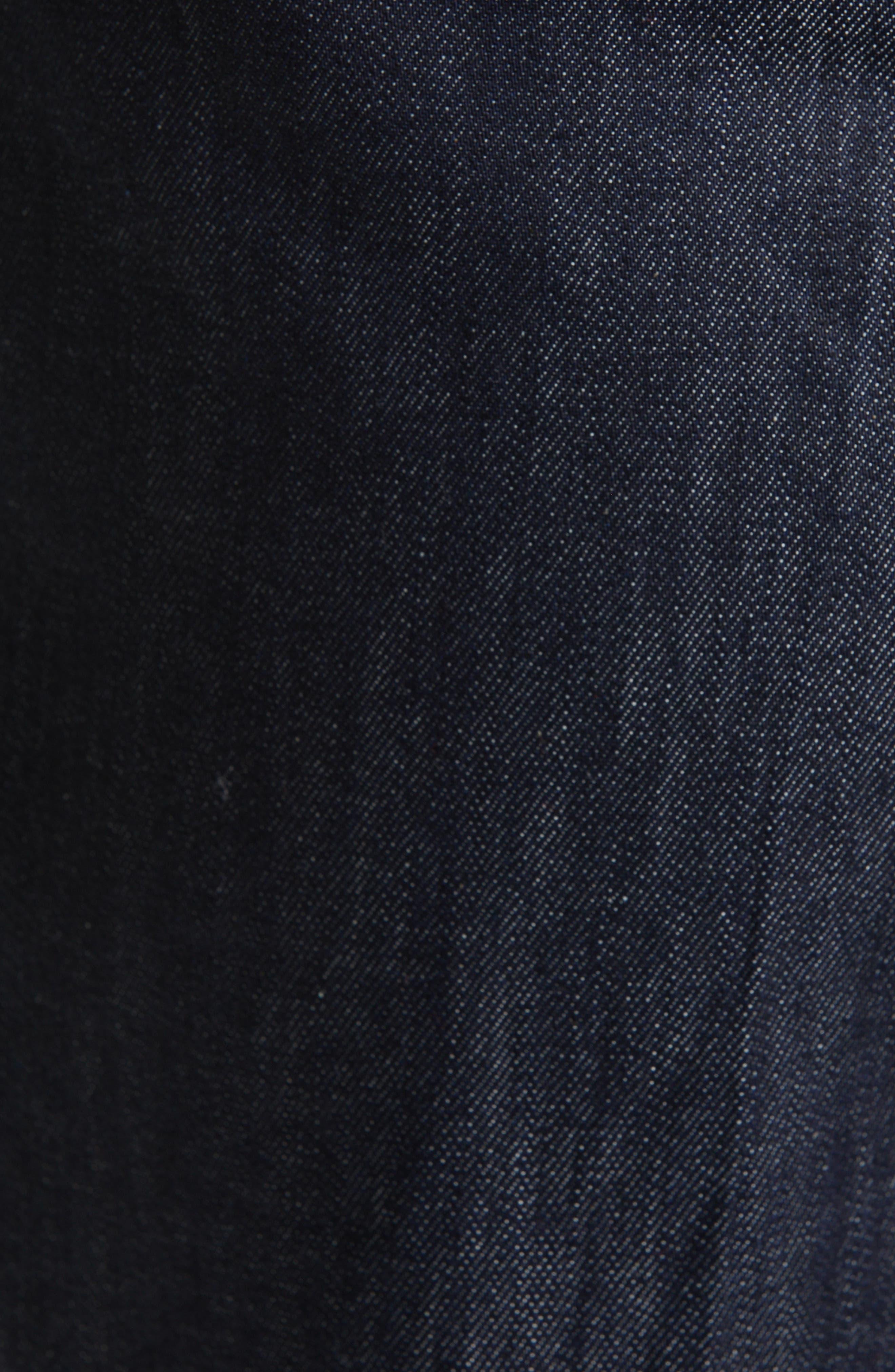 SOFIE D'HOORE,                             Wide Leg Crop Jeans,                             Alternate thumbnail 5, color,                             RAW