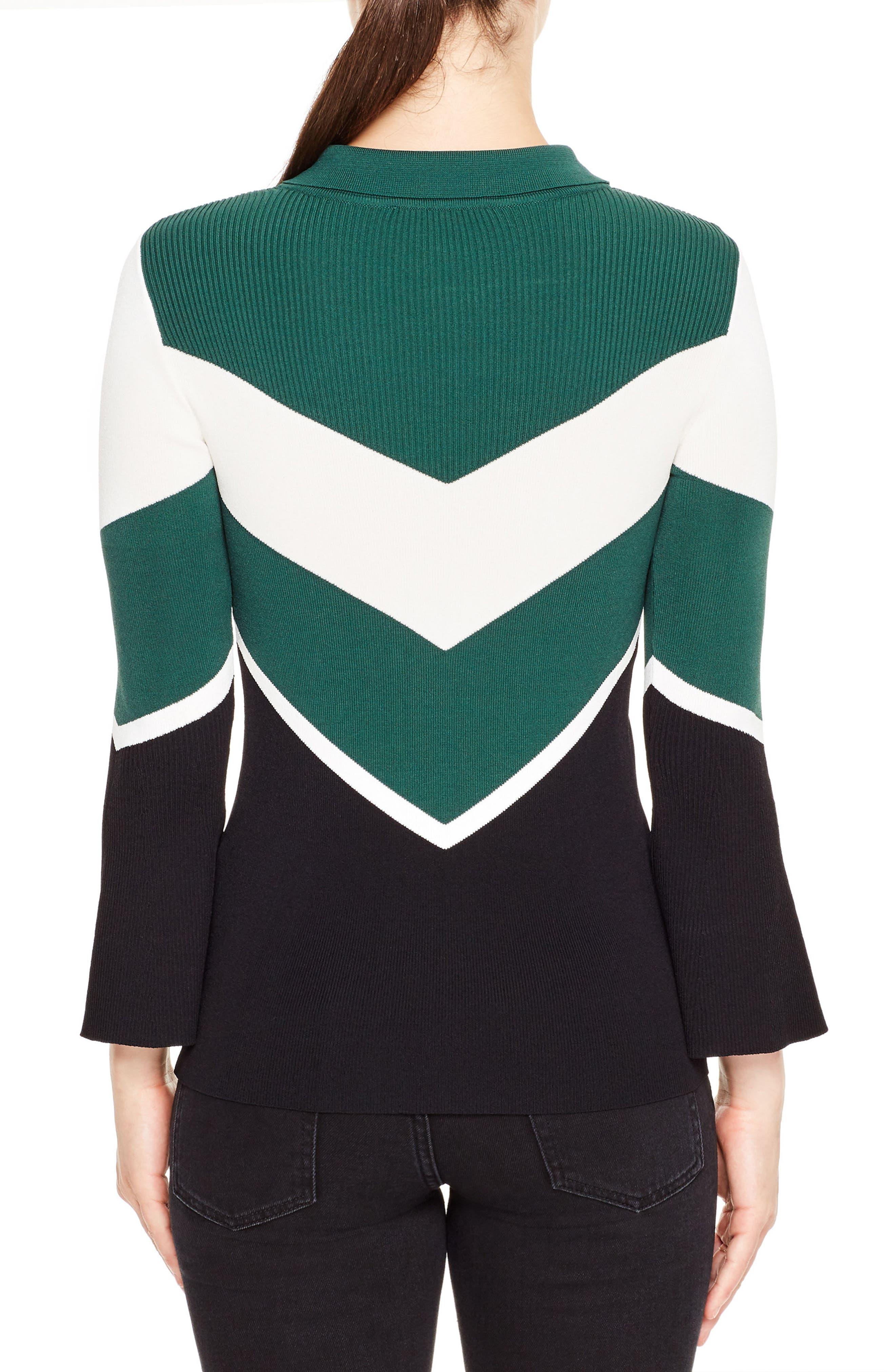 Evita Bell Sleeve Sweater,                             Alternate thumbnail 2, color,                             301
