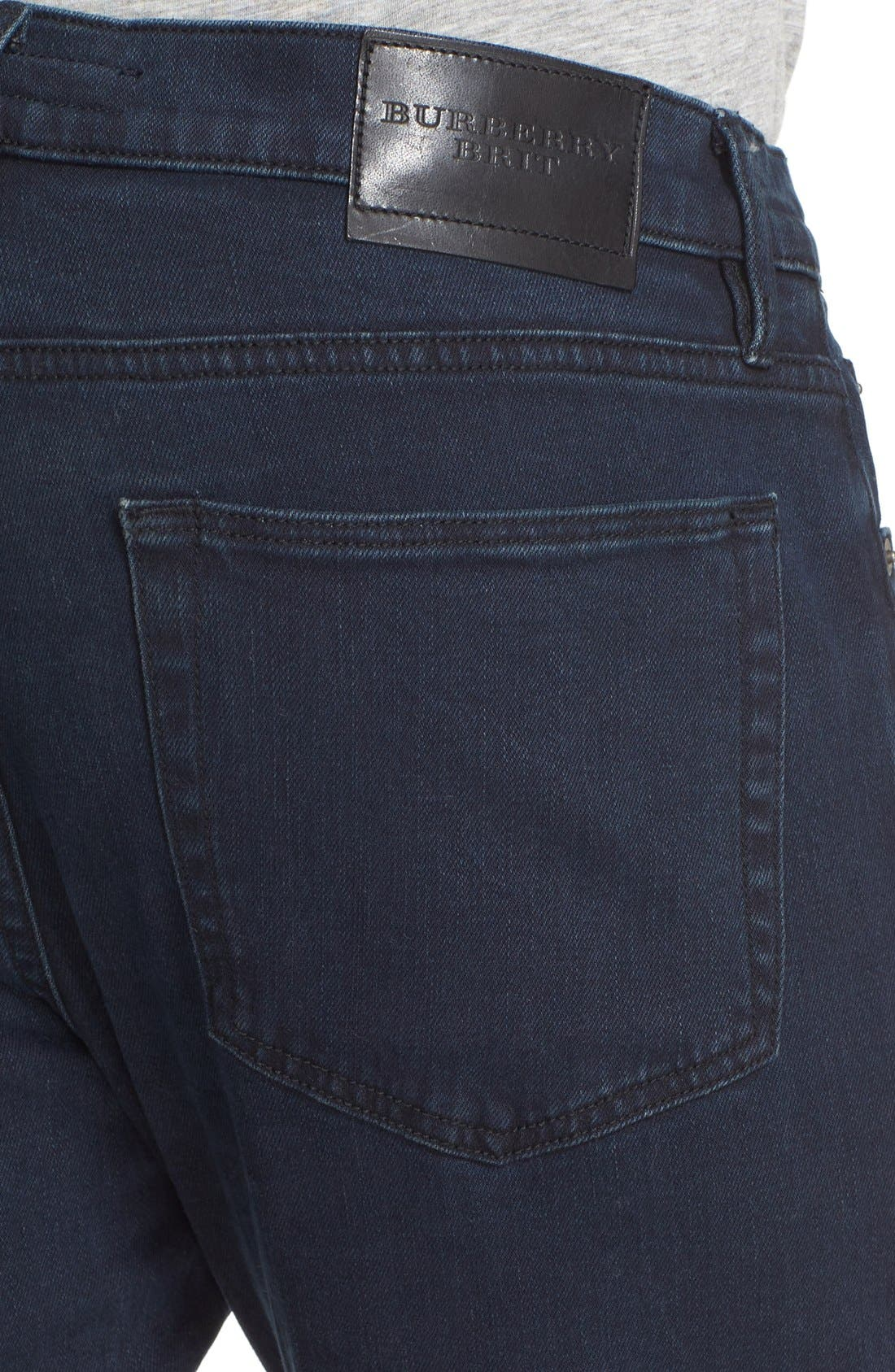 Straight Leg Jeans Jeans,                             Alternate thumbnail 4, color,                             404
