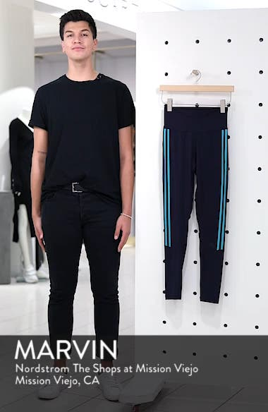Believe This 3-Stripes High Waist Ankle Leggings, sales video thumbnail