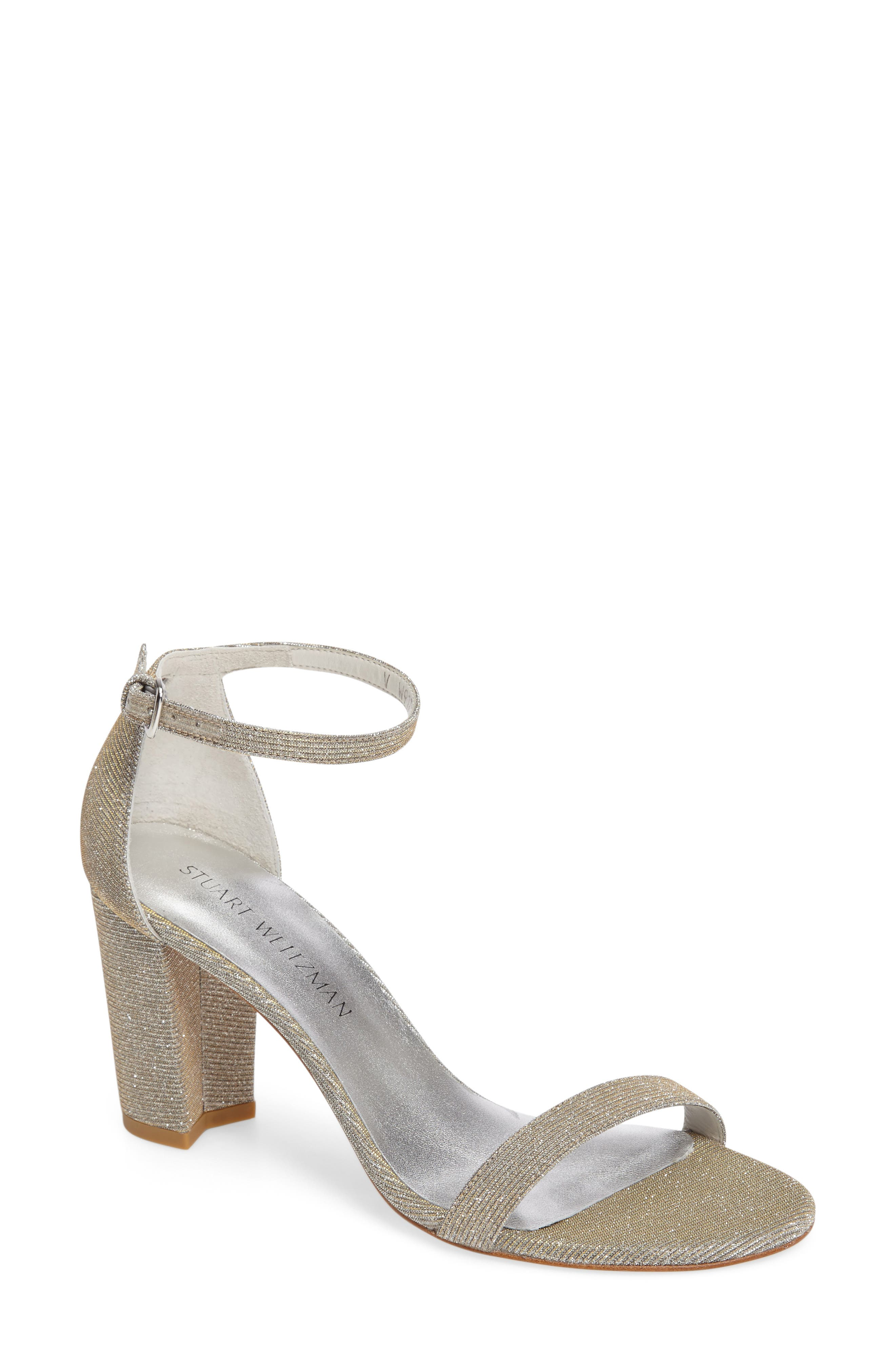 NearlyNude Ankle Strap Sandal,                             Main thumbnail 14, color,