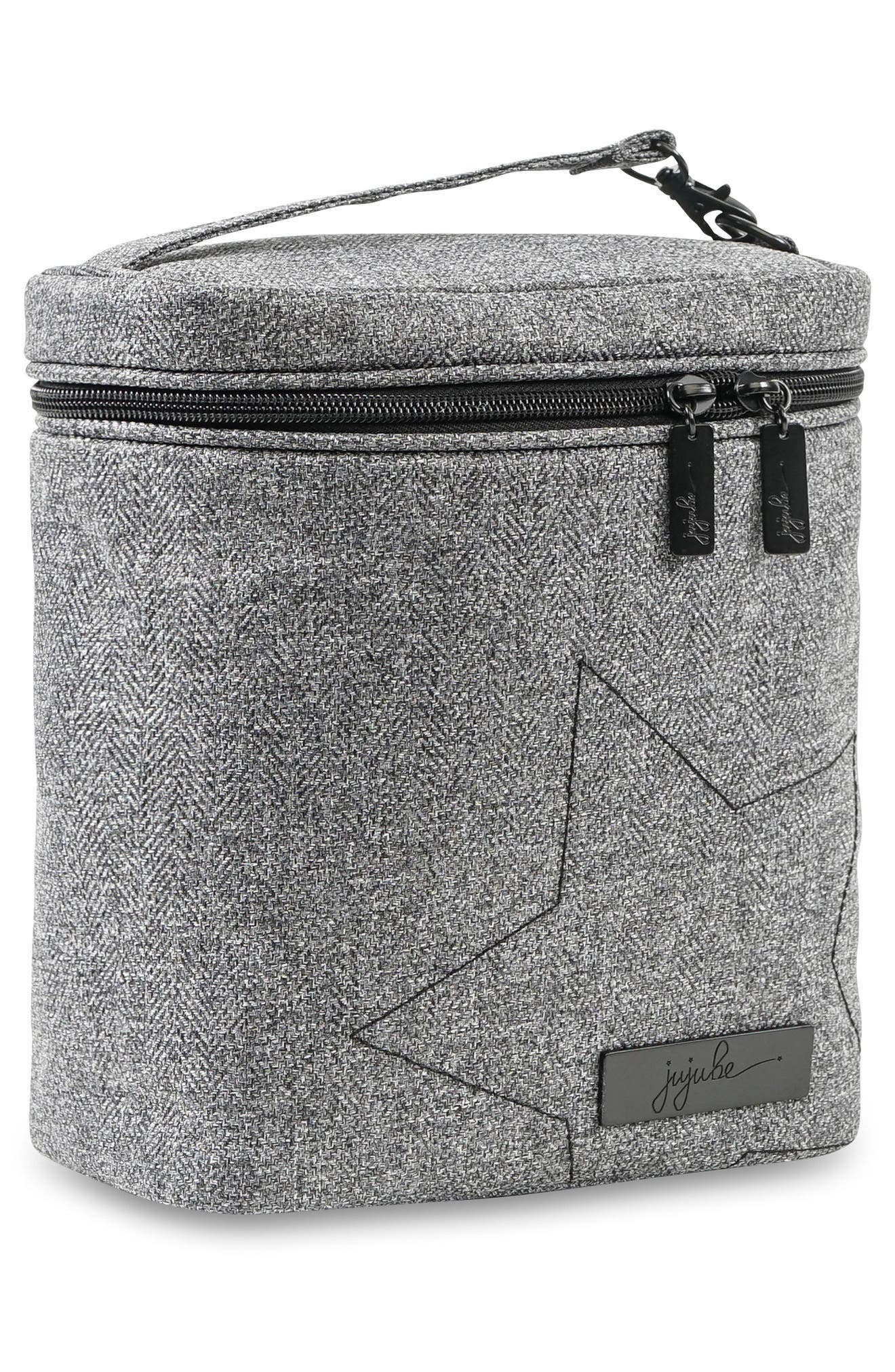'Fuel Cell - Onyx Collection' Lunch Bag,                             Alternate thumbnail 3, color,                             GRAY MATTER