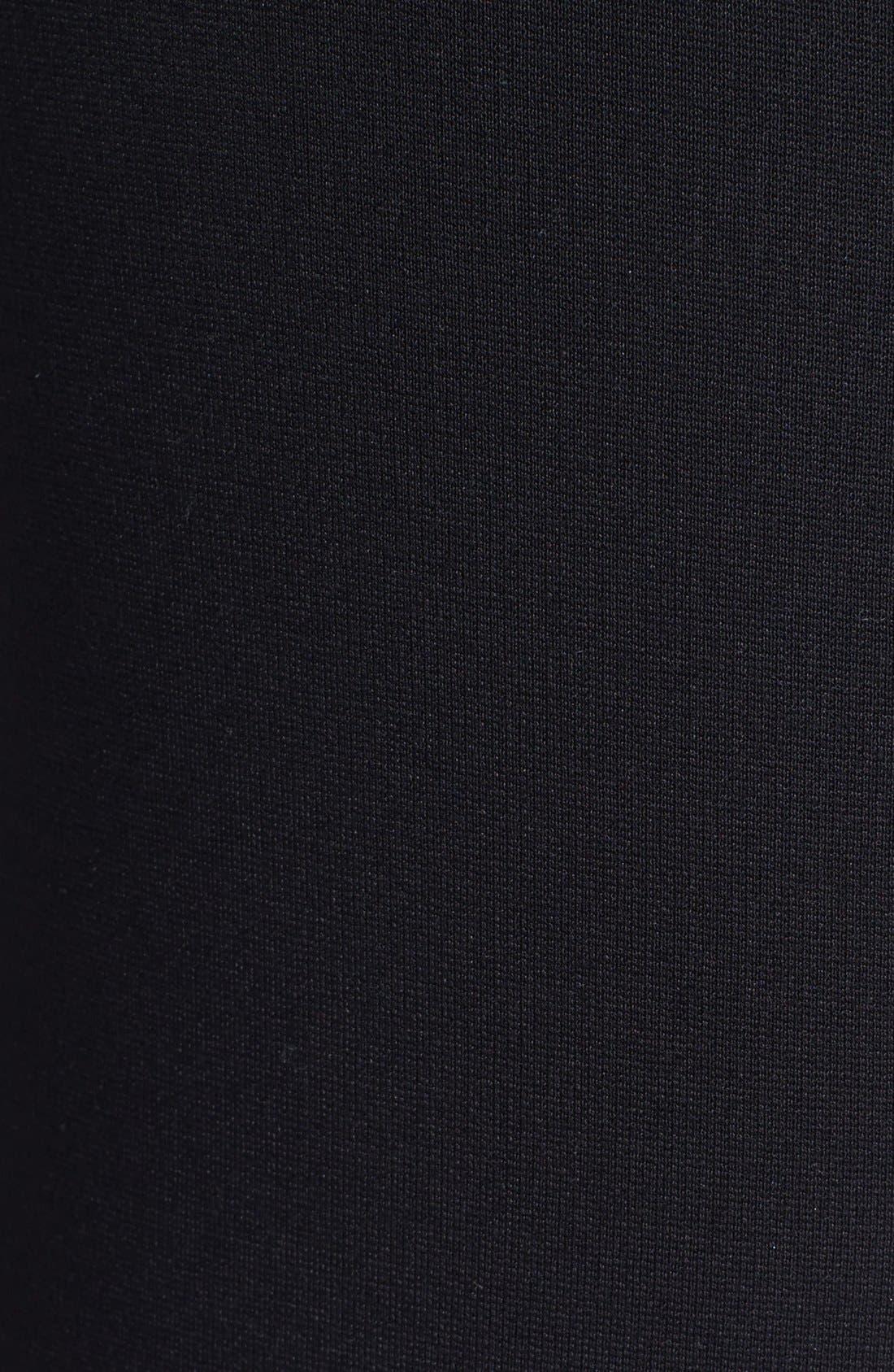 Denim 'Paloma' Faux Leather Leggings,                             Alternate thumbnail 4, color,                             001