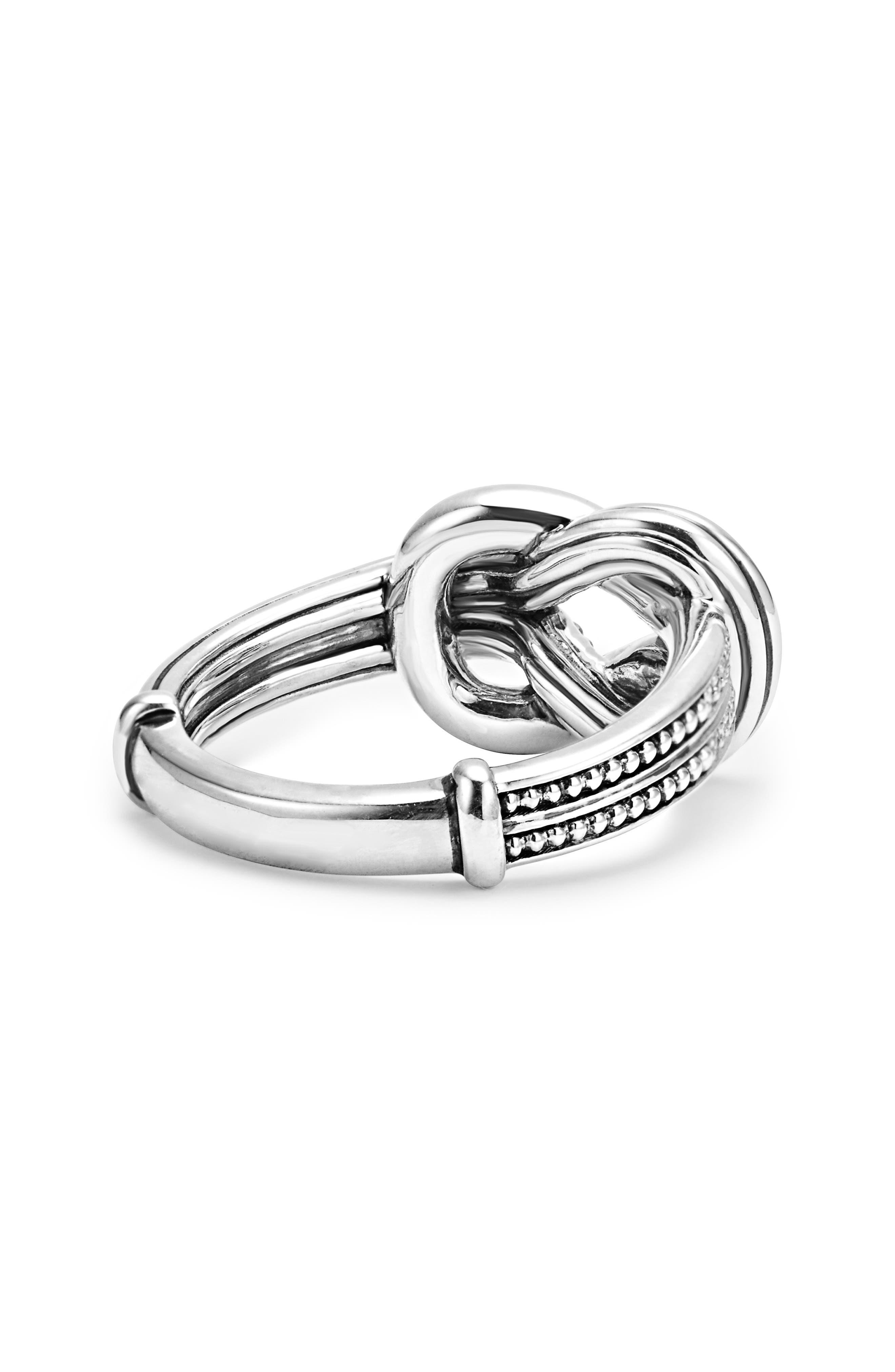 'Newport' Diamond Knot Ring,                             Alternate thumbnail 4, color,                             040
