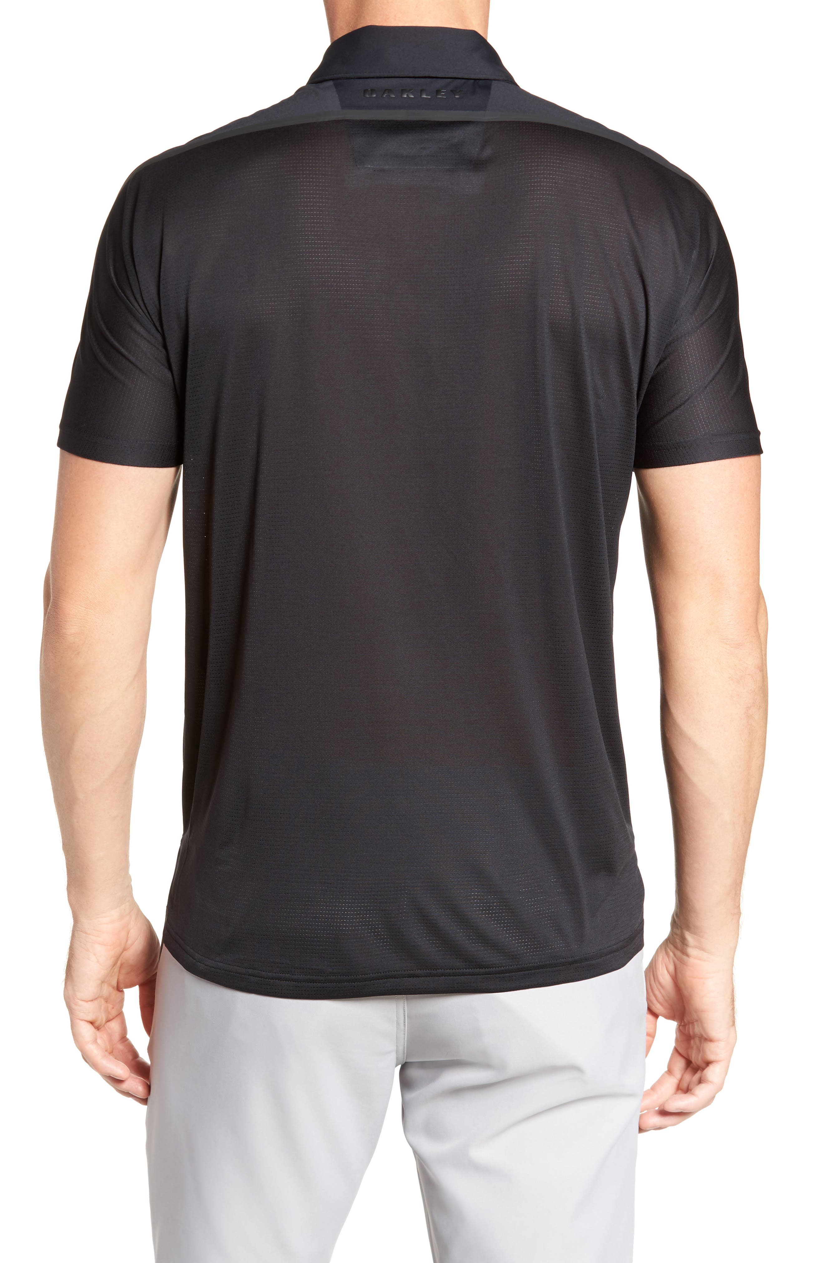 Velocity Polo Shirt,                             Alternate thumbnail 2, color,                             001