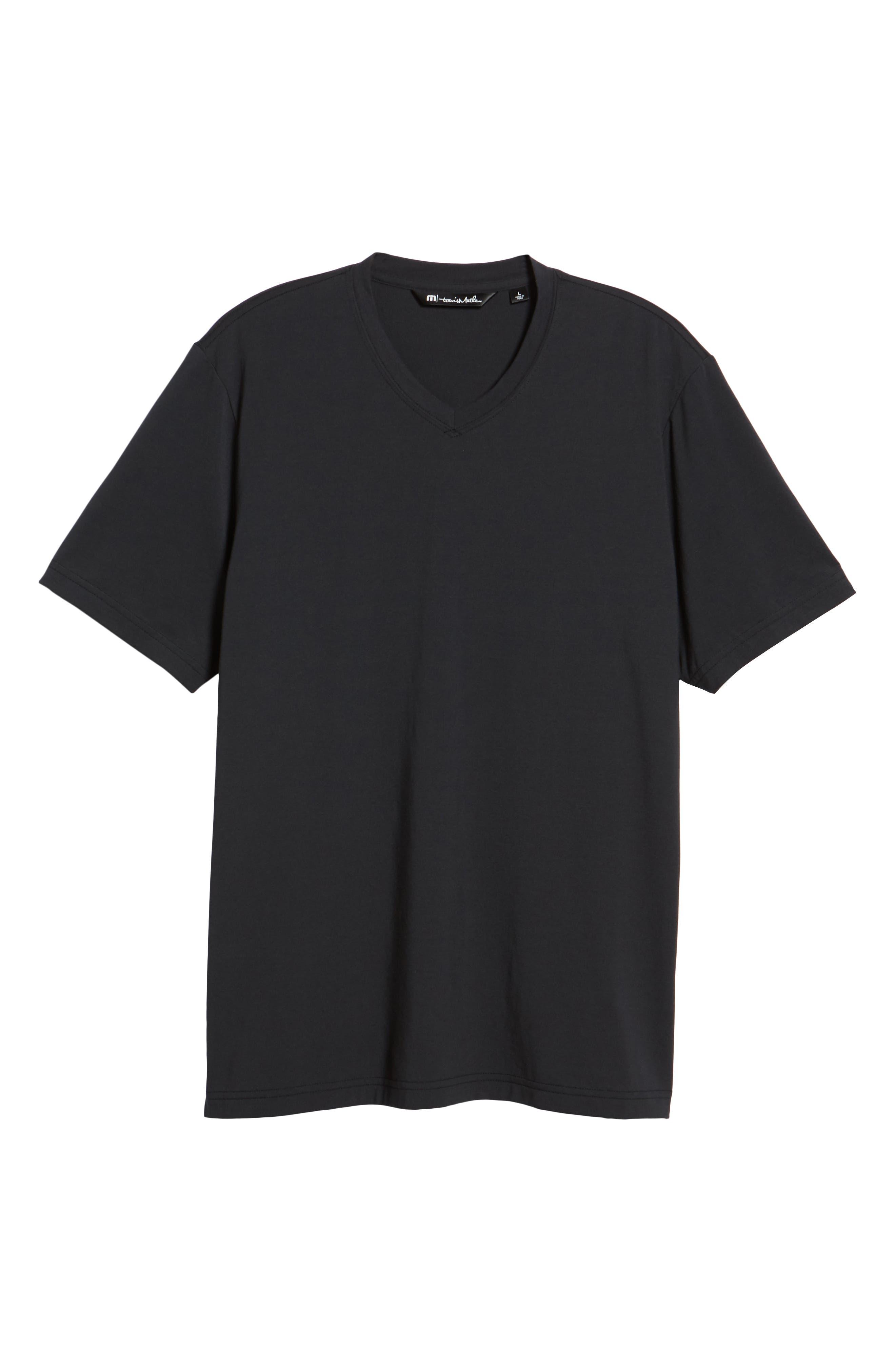 Potholder V-Neck T-Shirt,                             Alternate thumbnail 6, color,                             001