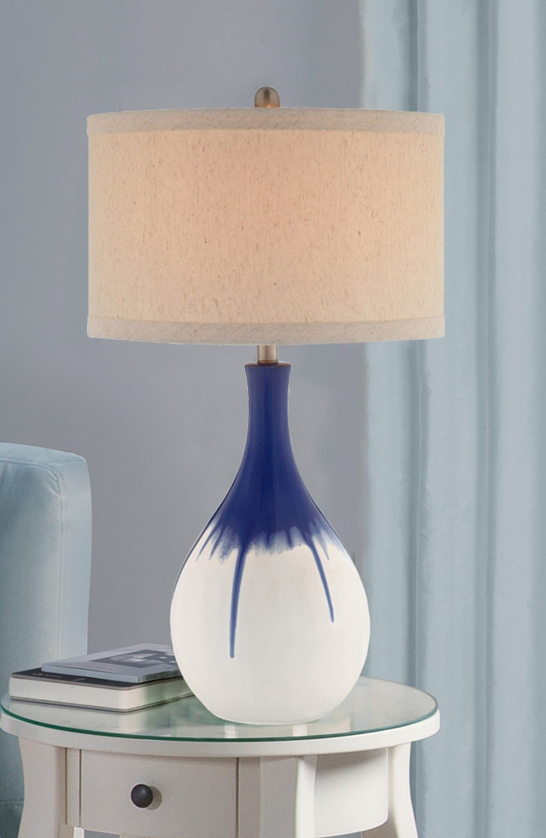 Cobalt Ceramic Table Lamp,                             Alternate thumbnail 2, color,                             400