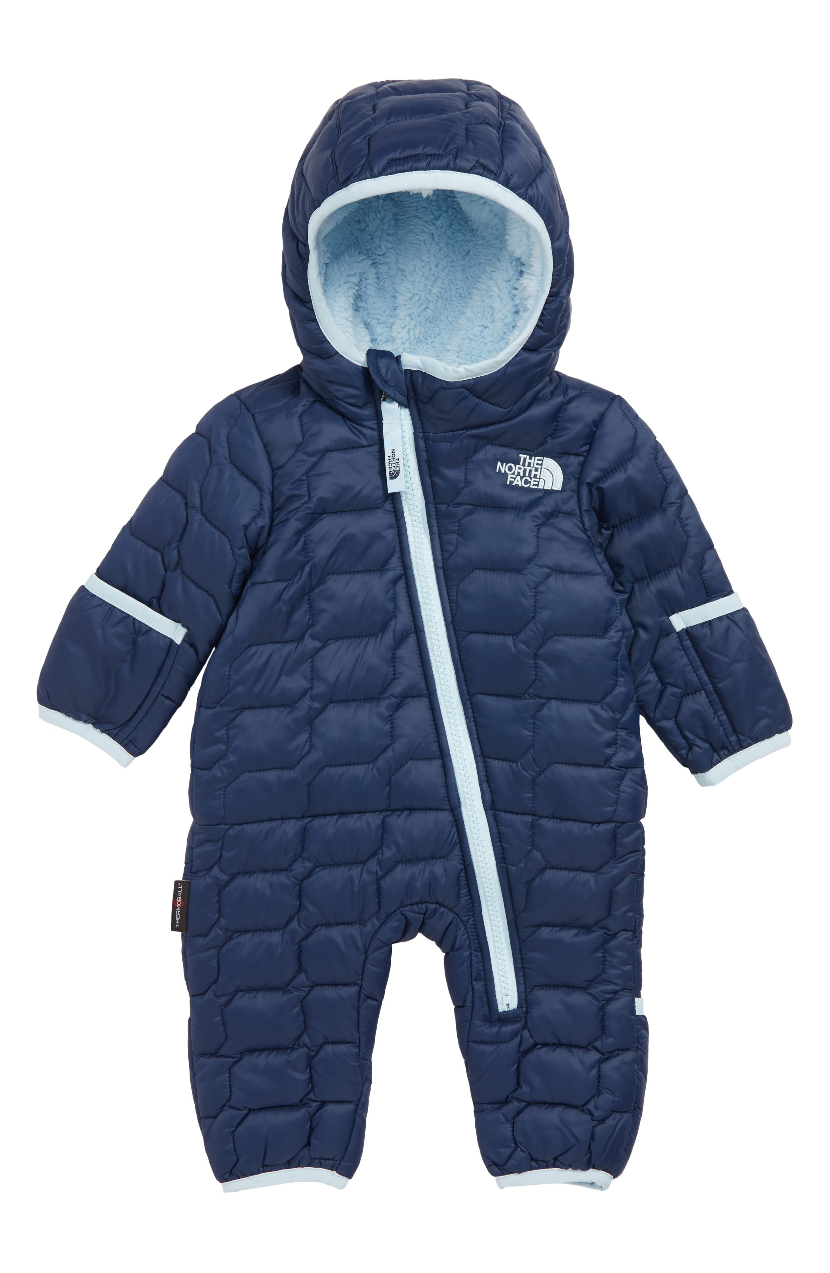 Infant Boys The North Face Thermoball(TM) Primaloft Bunting Size 1218M  Blue