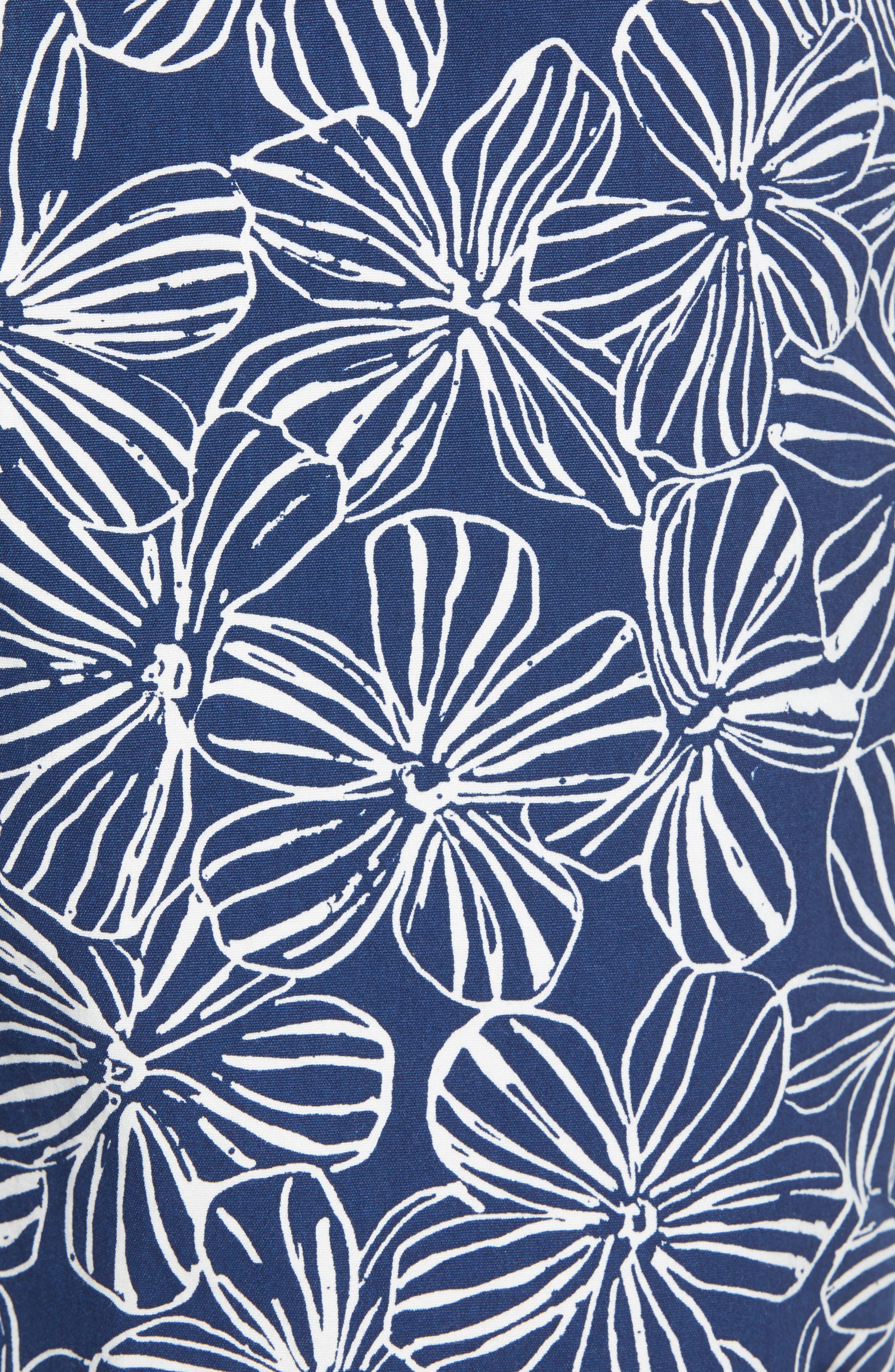 Mala Melia Regular Fit Board Shorts,                             Alternate thumbnail 5, color,                             BLUE