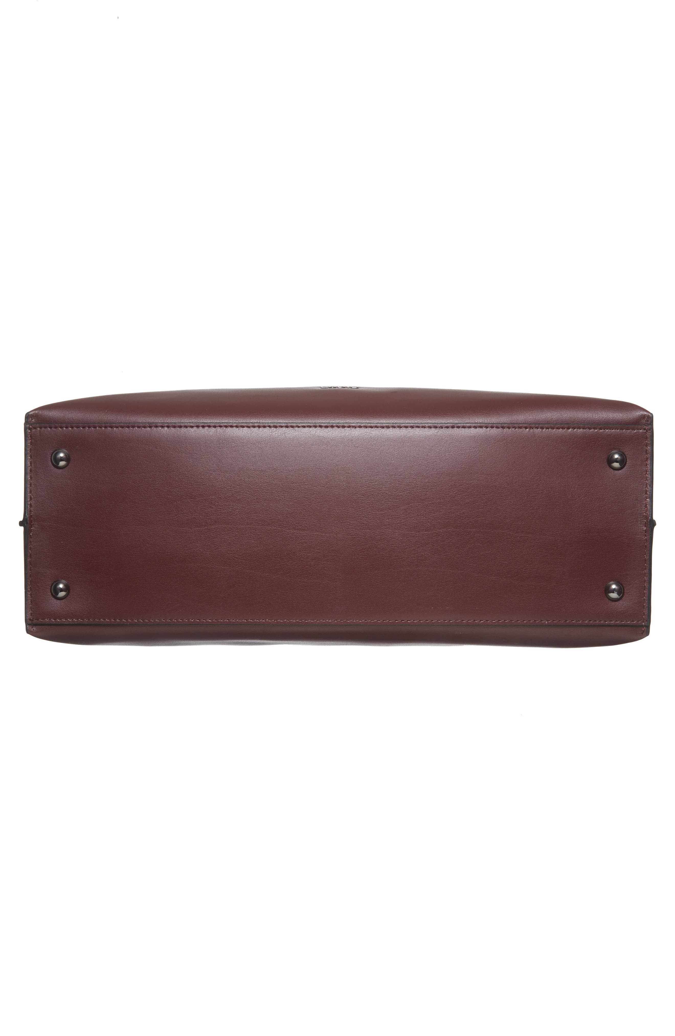 LODIS Silicon Valley - Lorrain RFID Leather Satchel,                             Alternate thumbnail 18, color,