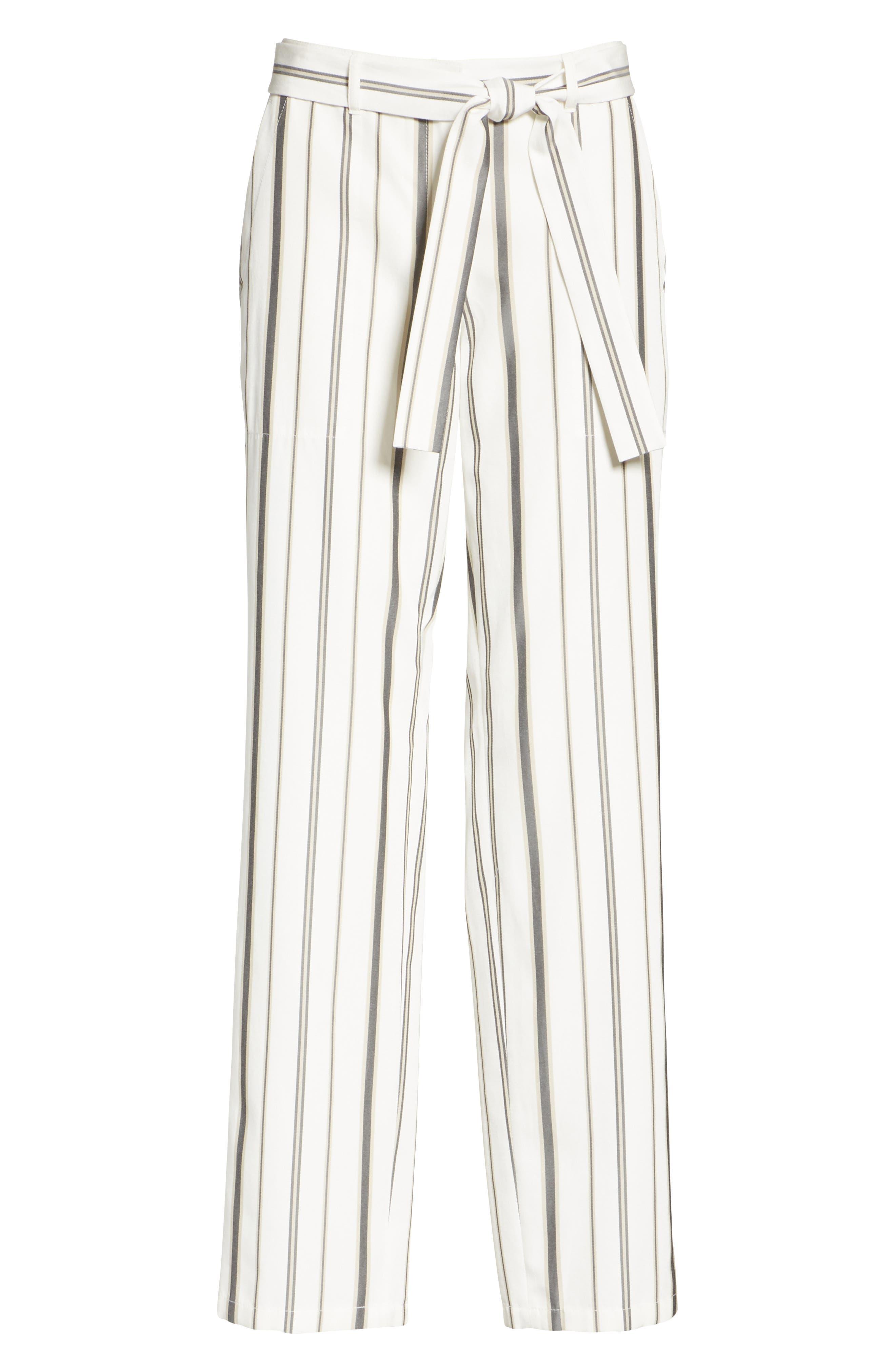 Fulton Gallant Stripe Pants,                             Alternate thumbnail 6, color,                             CLOUD MULTI