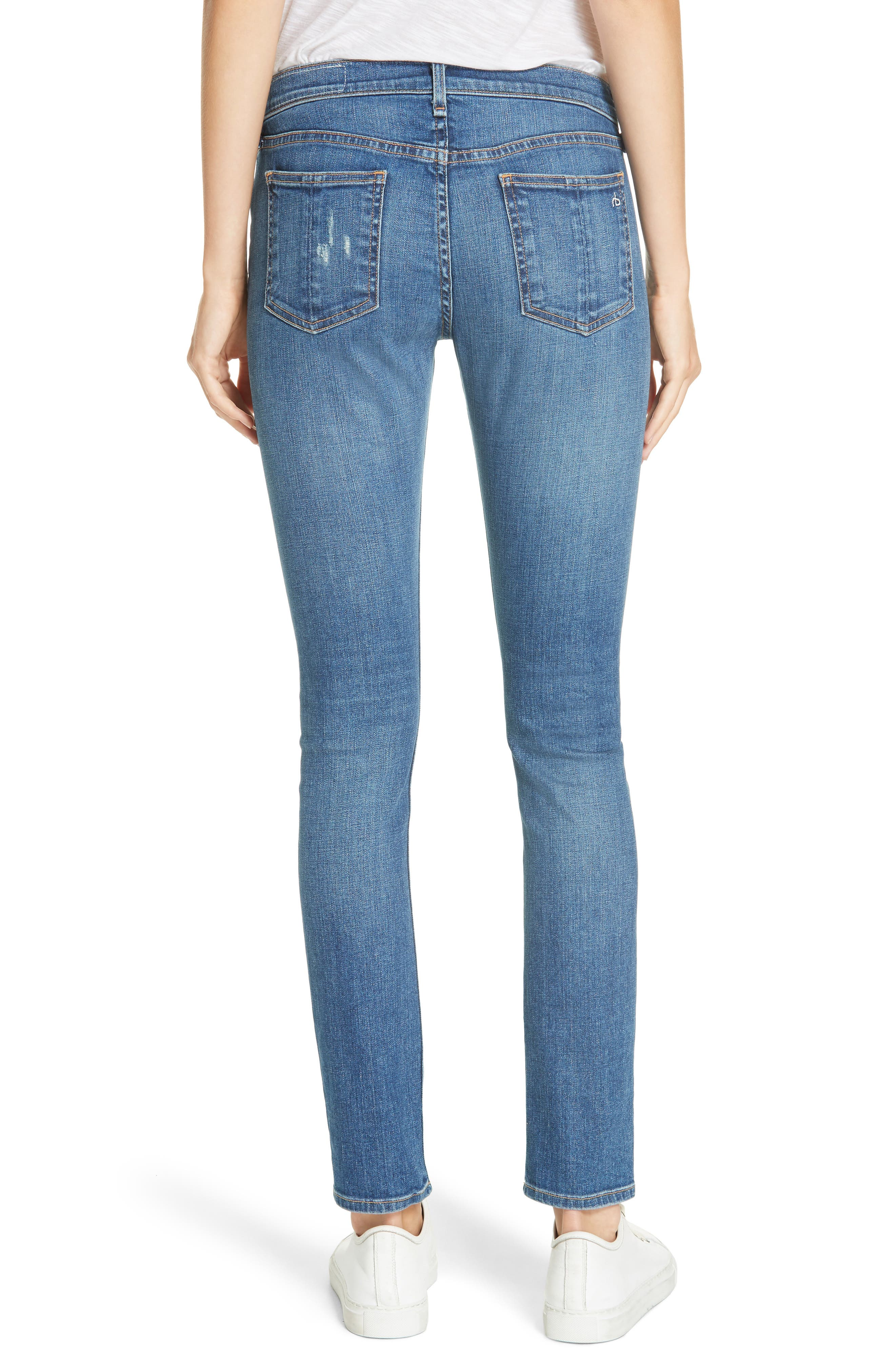 RAG & BONE,                             Skinny Jeans,                             Alternate thumbnail 2, color,                             420