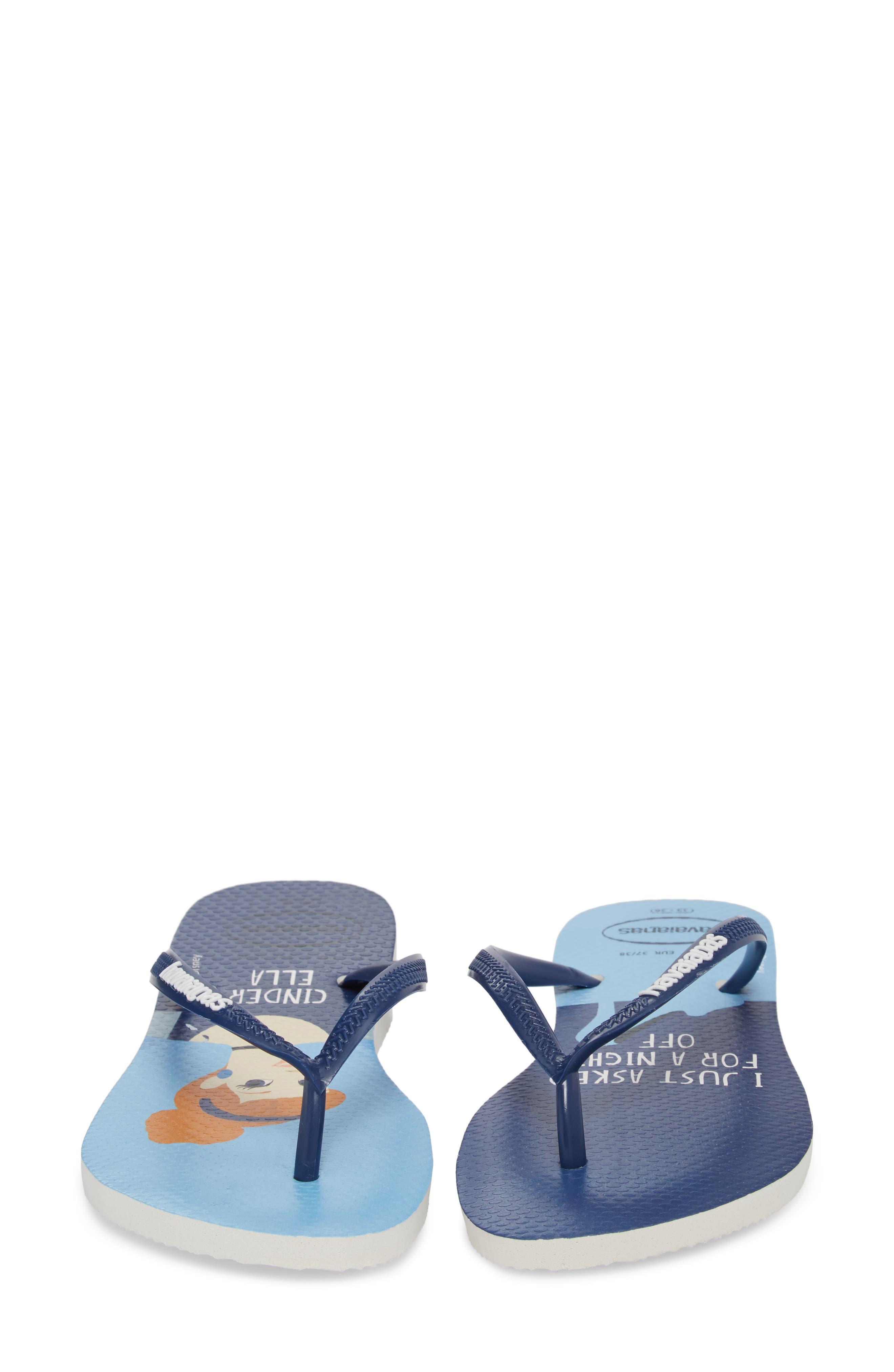 Havaiana Slim - Disney Princess Flip Flop,                             Alternate thumbnail 4, color,                             401