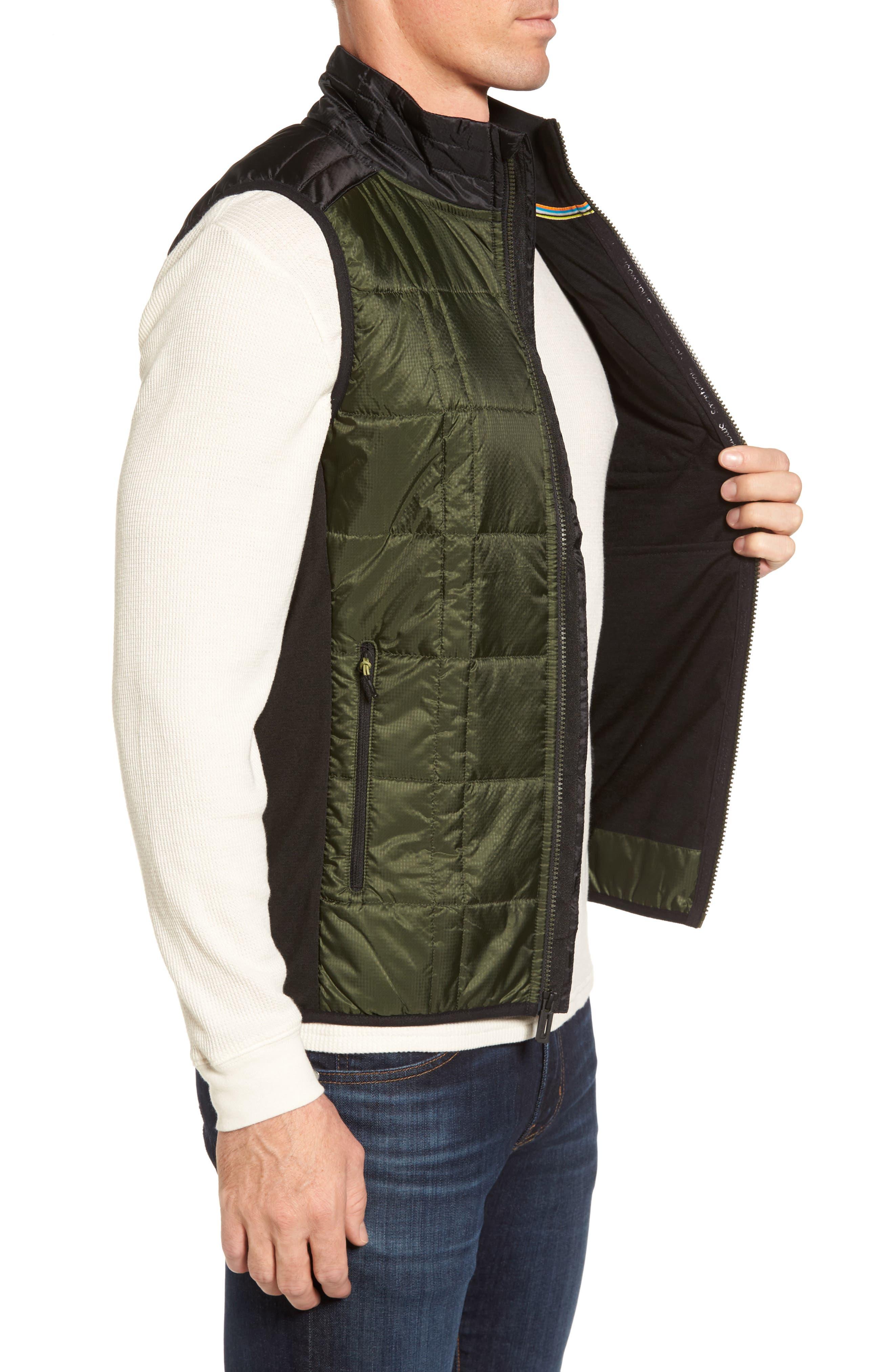 'Corbet 120' Quilted Zip Front Vest,                             Alternate thumbnail 3, color,                             301
