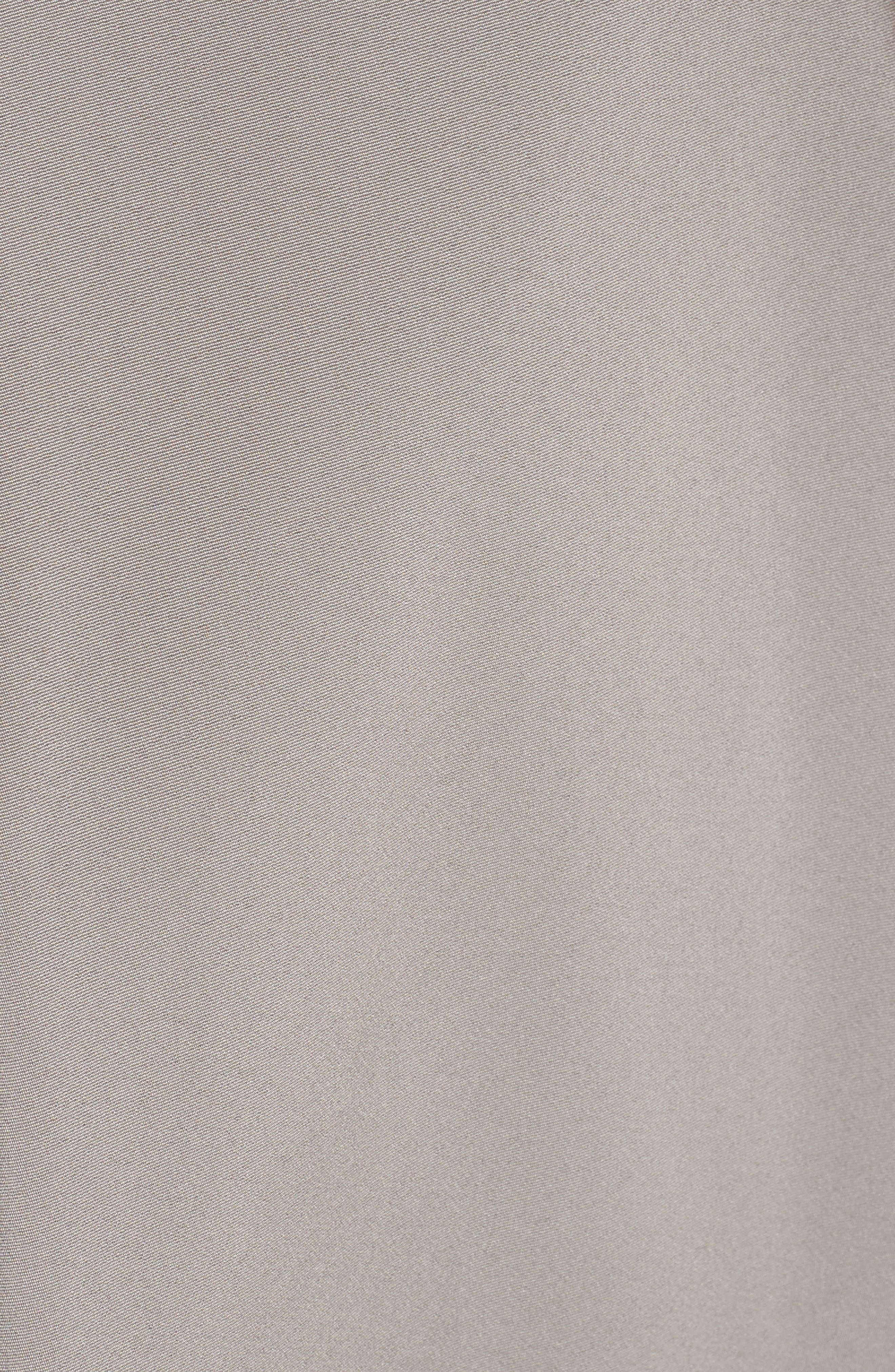 Illusion Sequin & Faille A-Line Gown,                             Alternate thumbnail 5, color,                             244