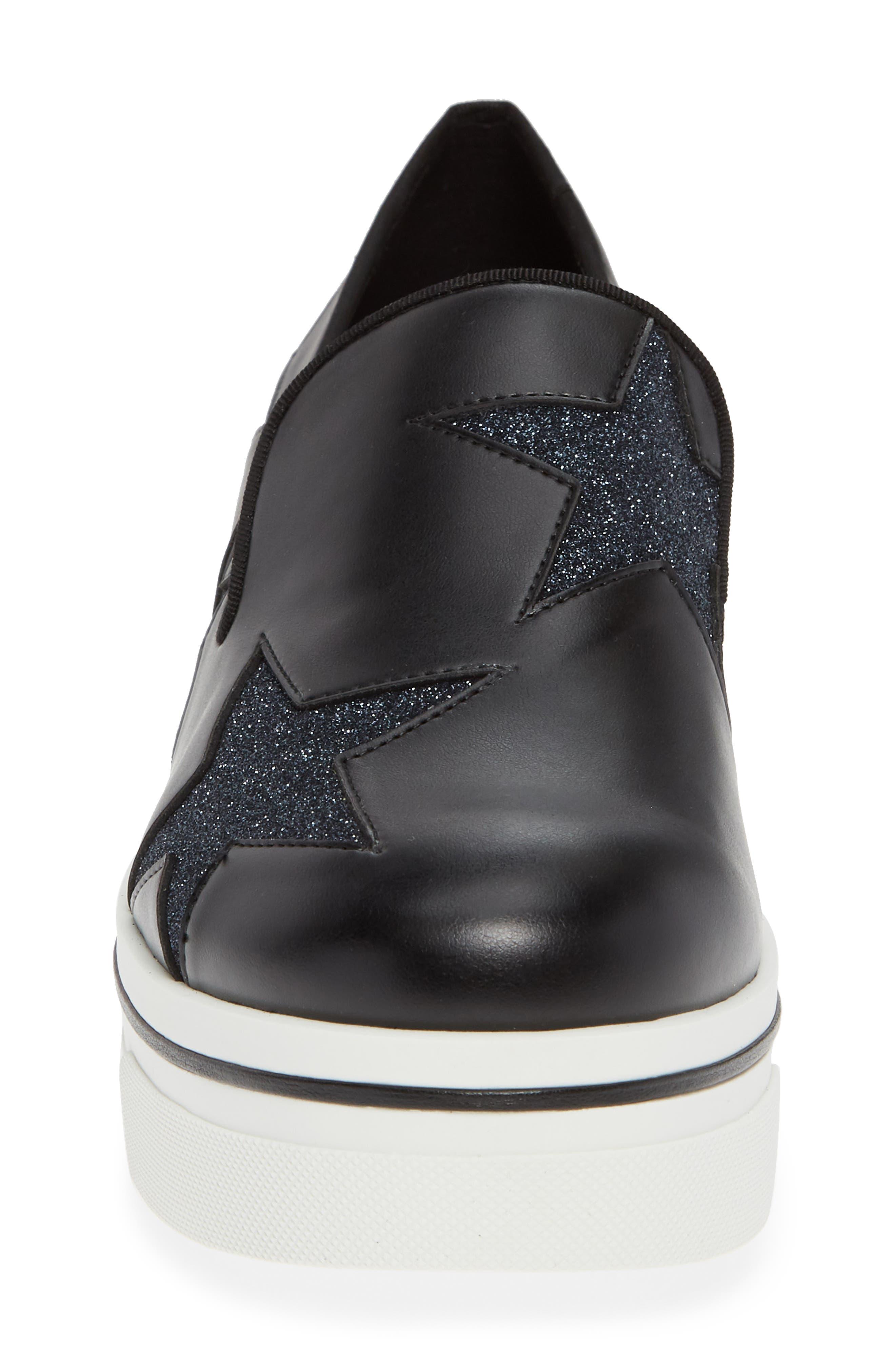 Binx Stars Slip-On Platform Sneaker,                             Alternate thumbnail 4, color,                             019