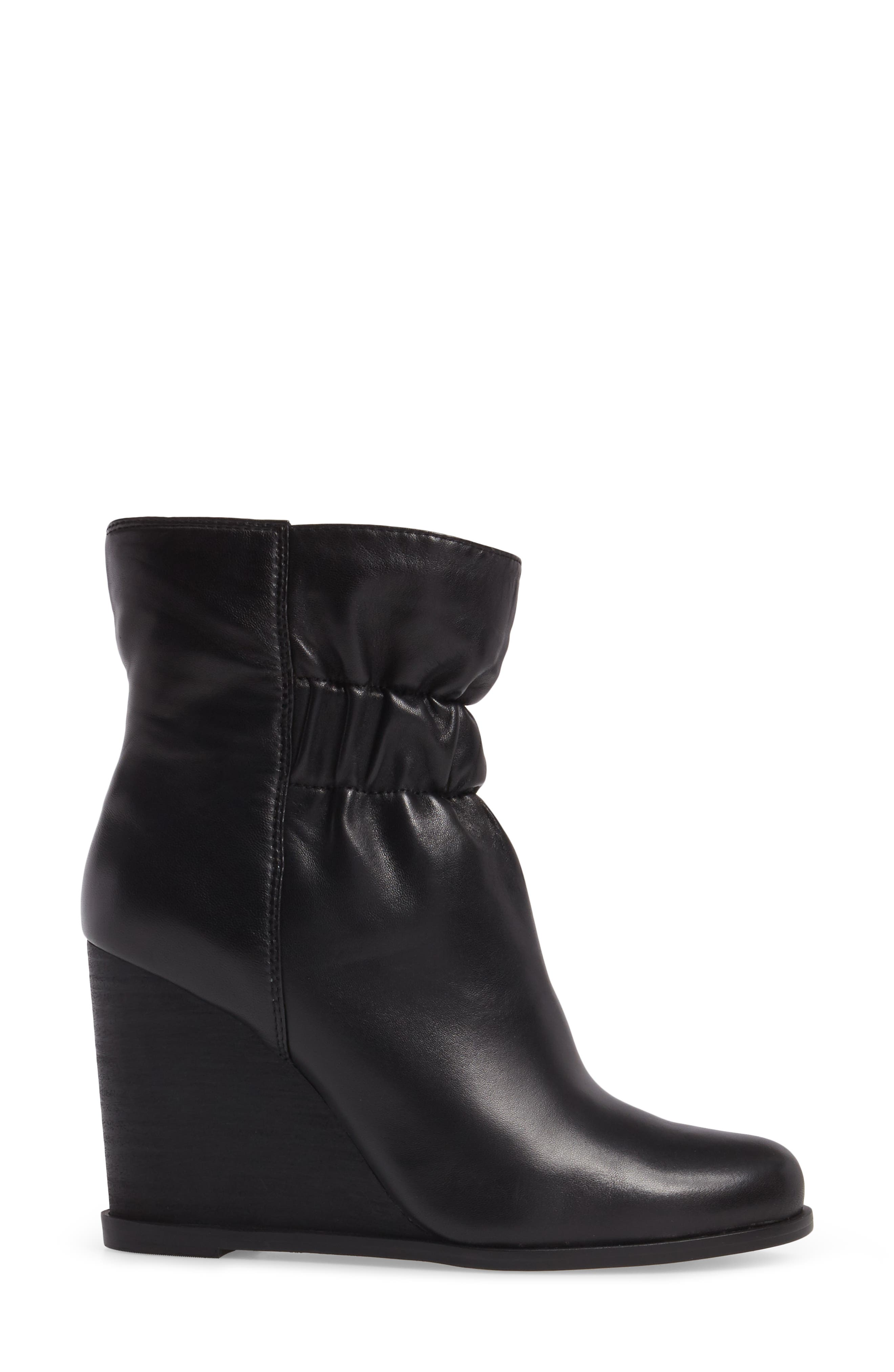 Rebecca Wedge Bootie,                             Alternate thumbnail 3, color,                             002