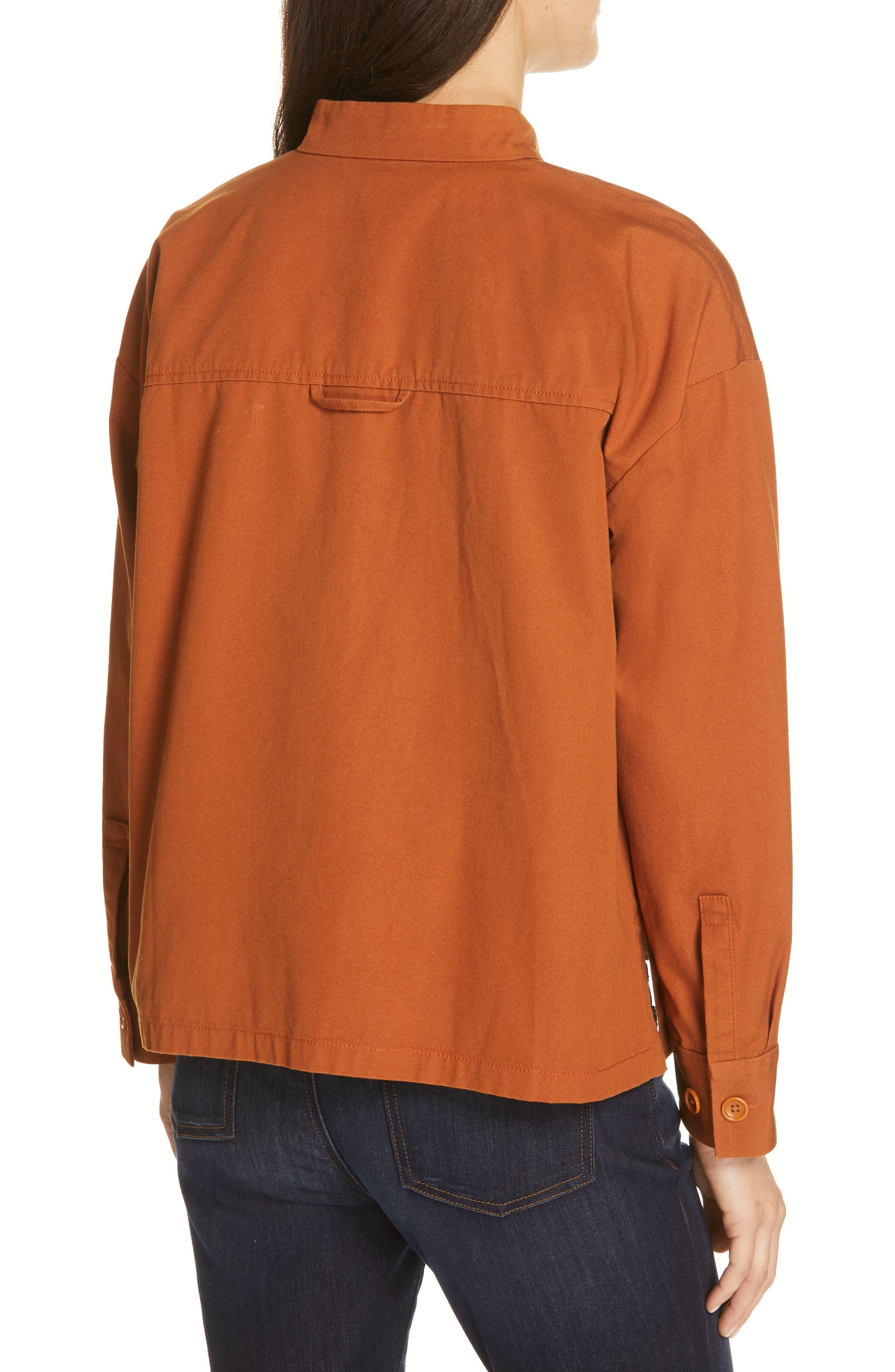 Organic Cotton Jacket,                             Alternate thumbnail 2, color,                             MUSK