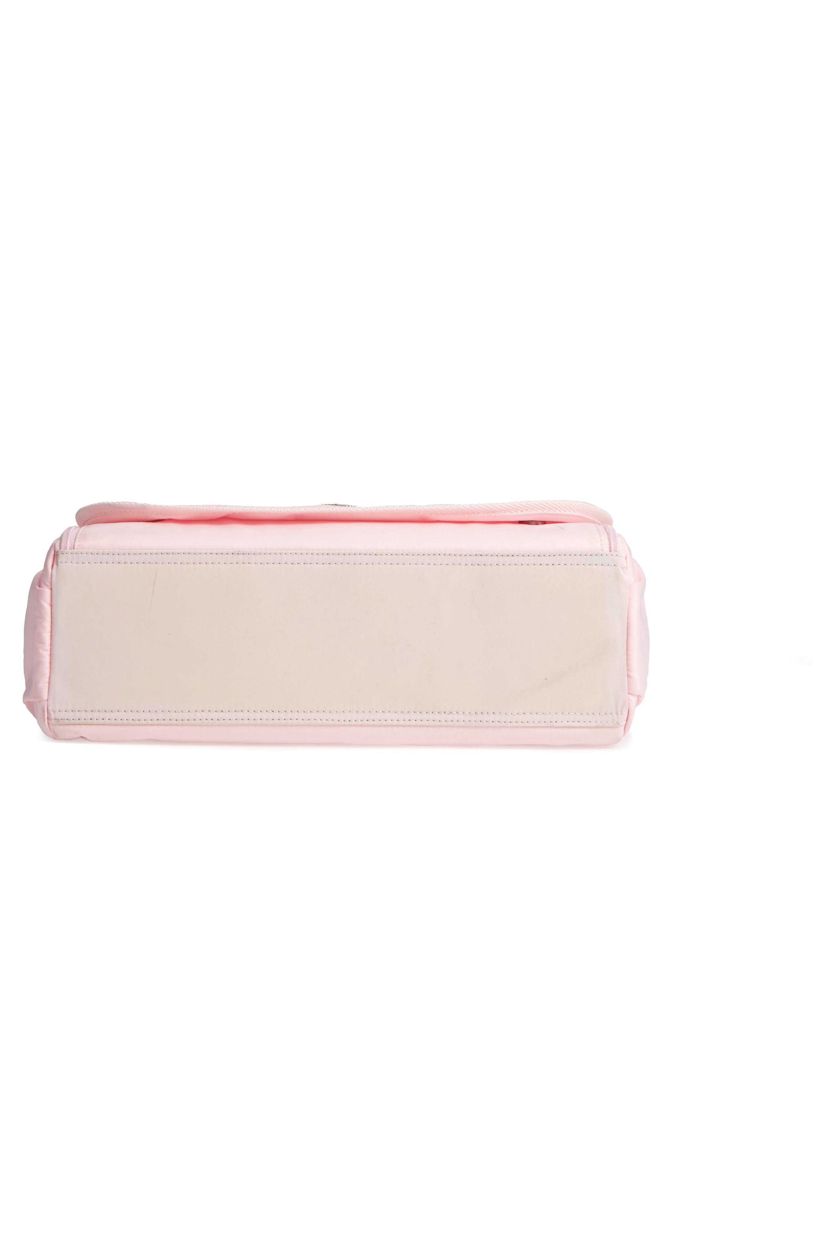 Nylon Messenger Diaper Bag,                             Alternate thumbnail 24, color,