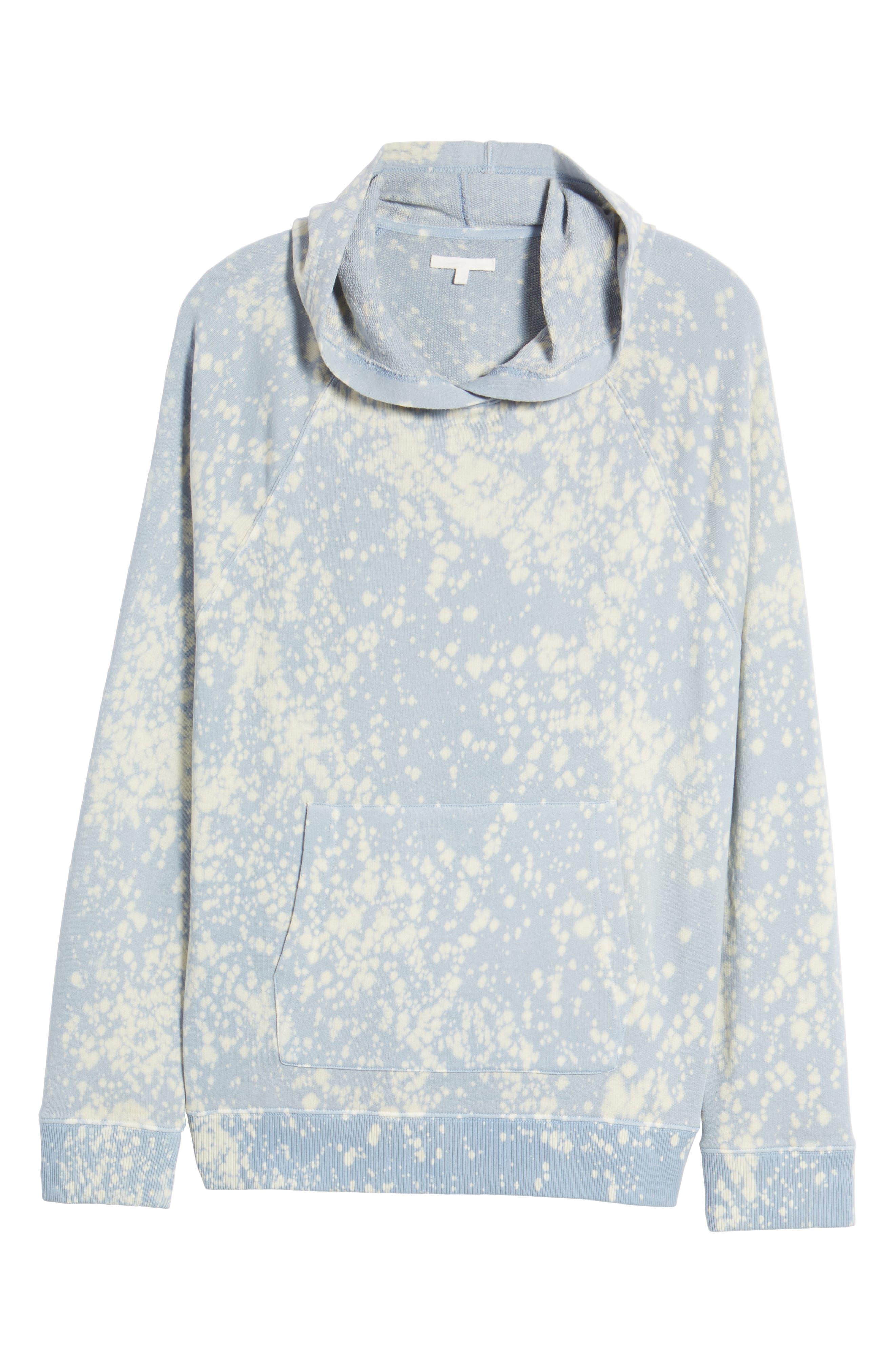 Bleached Hoodie Sweatshirt,                             Alternate thumbnail 6, color,                             450