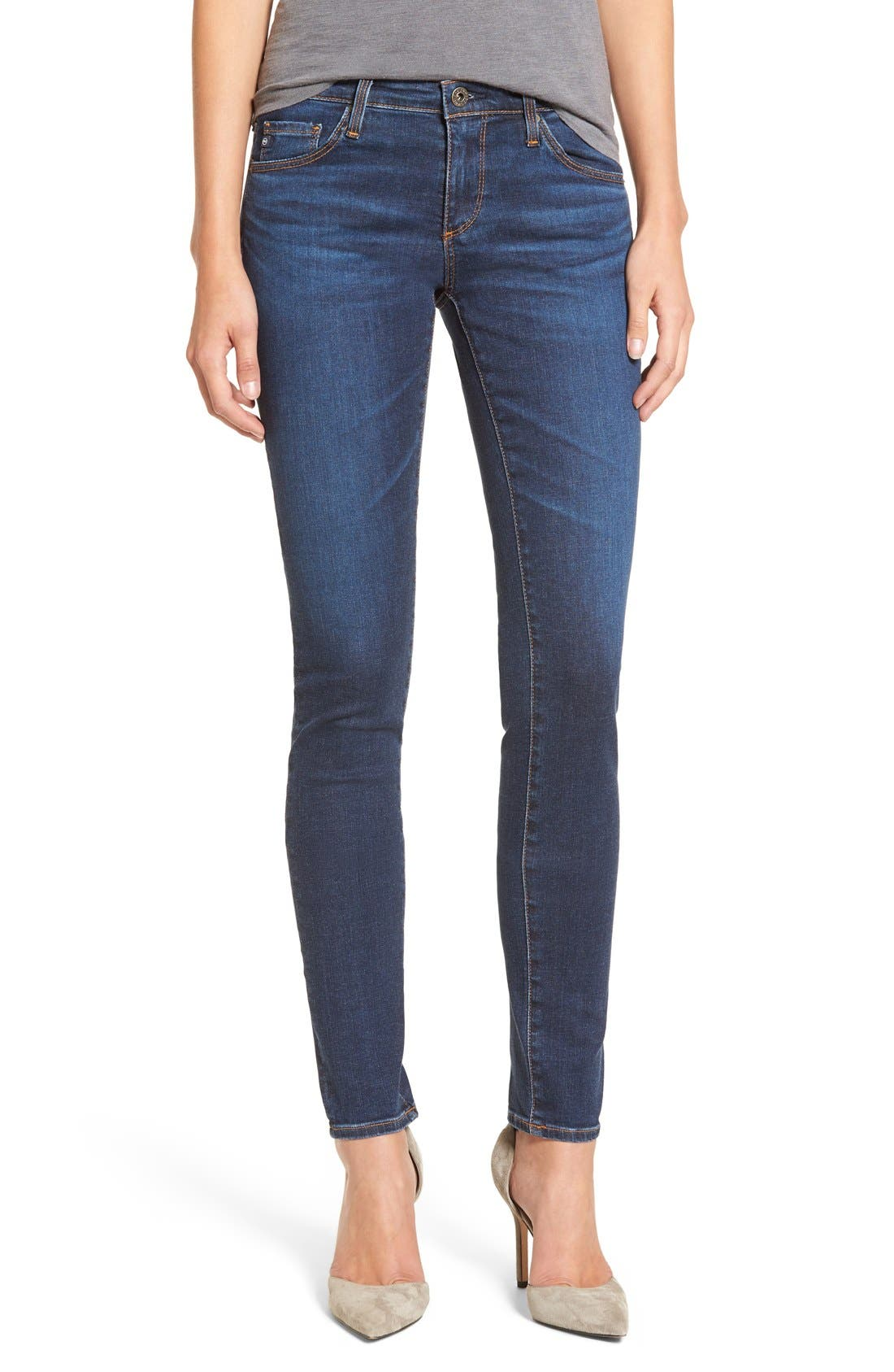 'The Legging' Super Skinny Jeans,                             Main thumbnail 8, color,