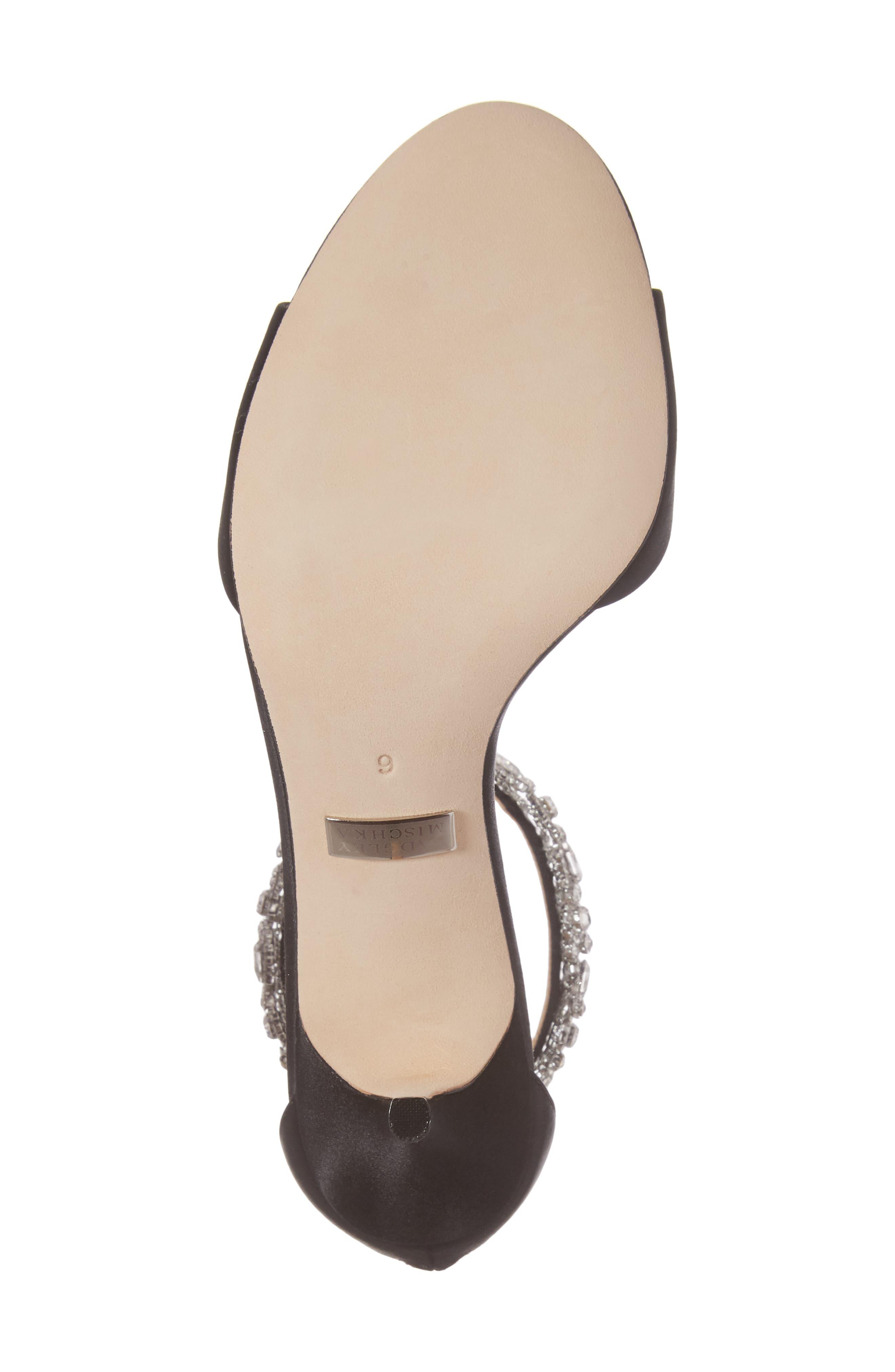 Geranium Embellished Sandal,                             Alternate thumbnail 6, color,                             015