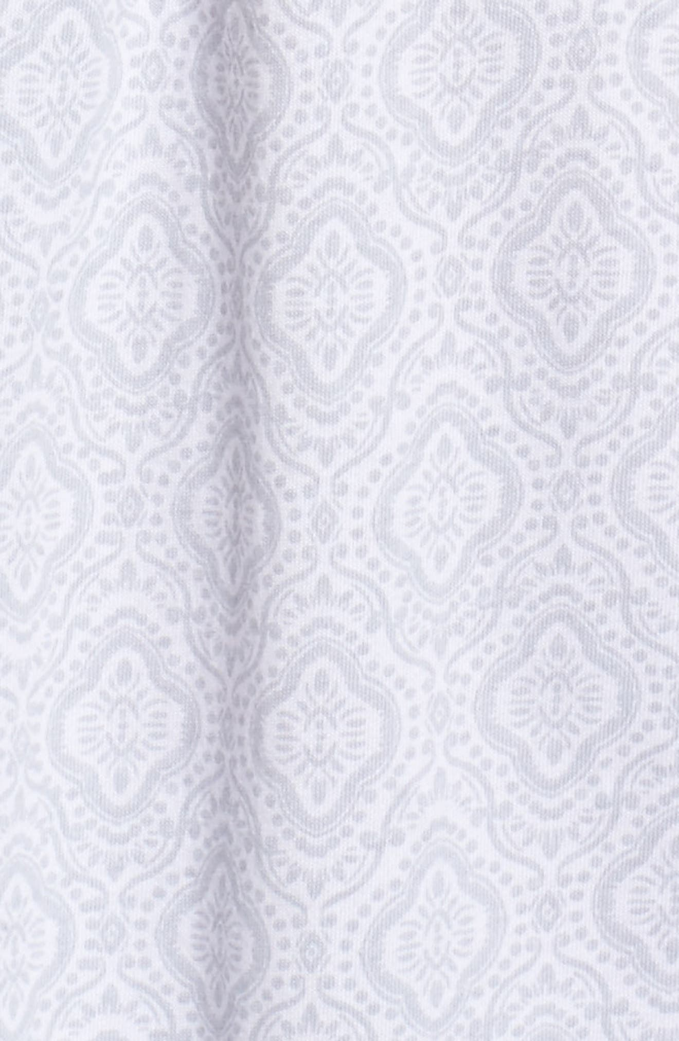 Cotton Jersey Waltz Nightgown,                             Alternate thumbnail 5, color,