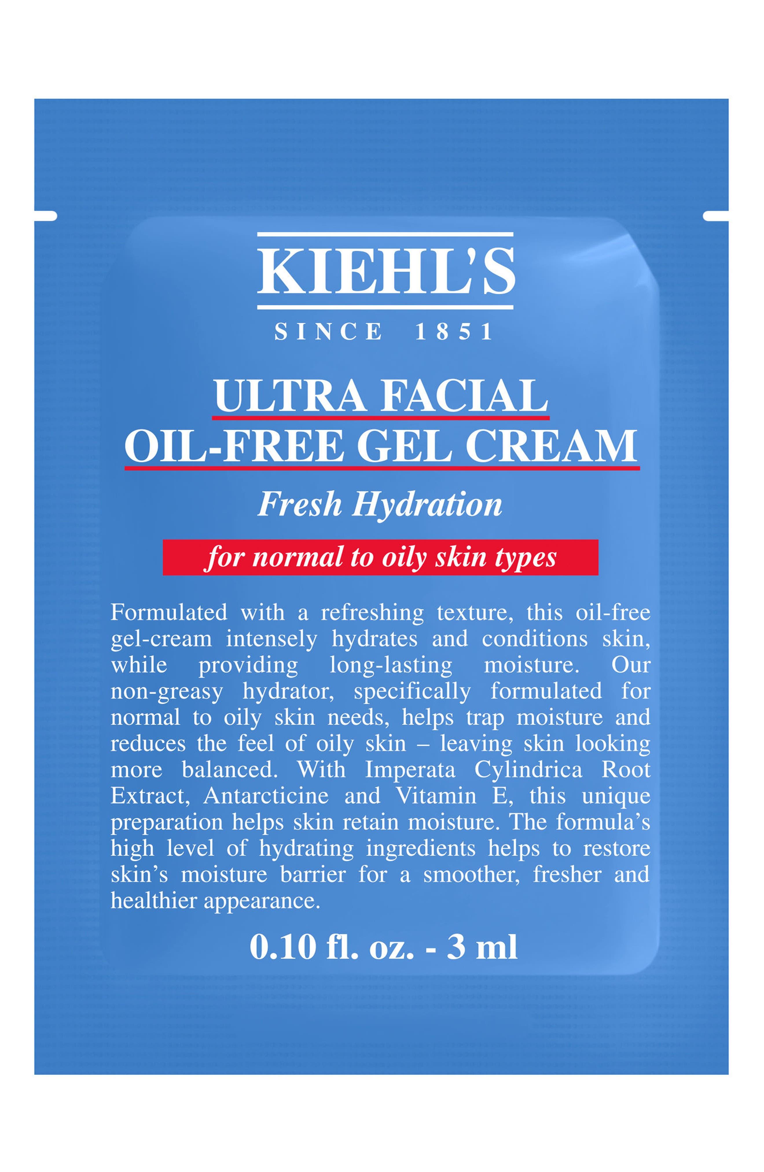'Ultra Facial' Oil-Free Gel Cream,                             Alternate thumbnail 4, color,                             NO COLOR