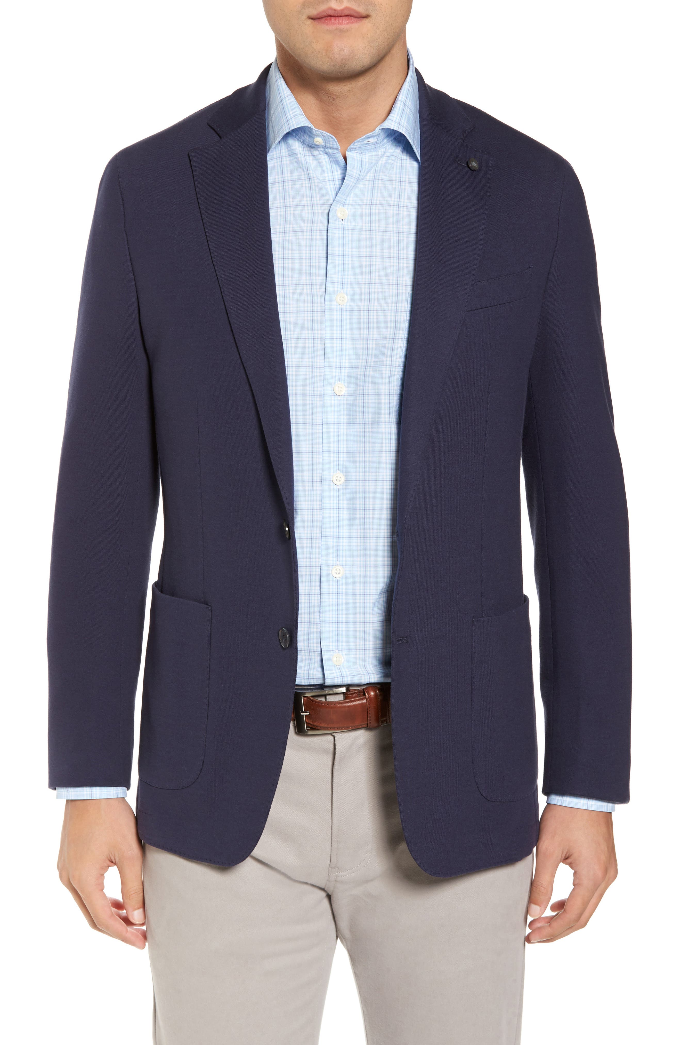 Santorini Jersey Knit Jacket,                             Main thumbnail 1, color,                             417