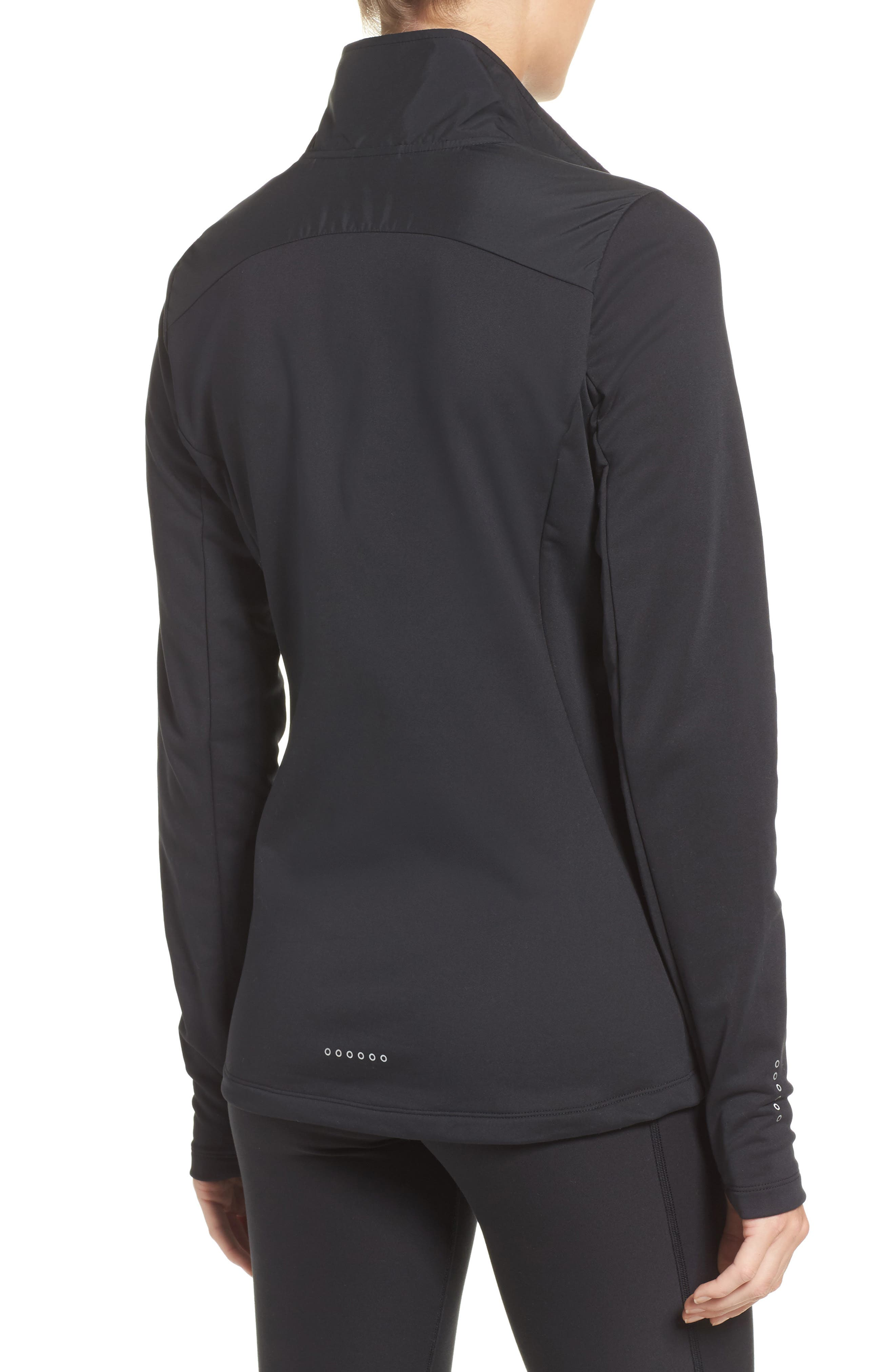 Essentials Running Jacket,                             Alternate thumbnail 2, color,                             010