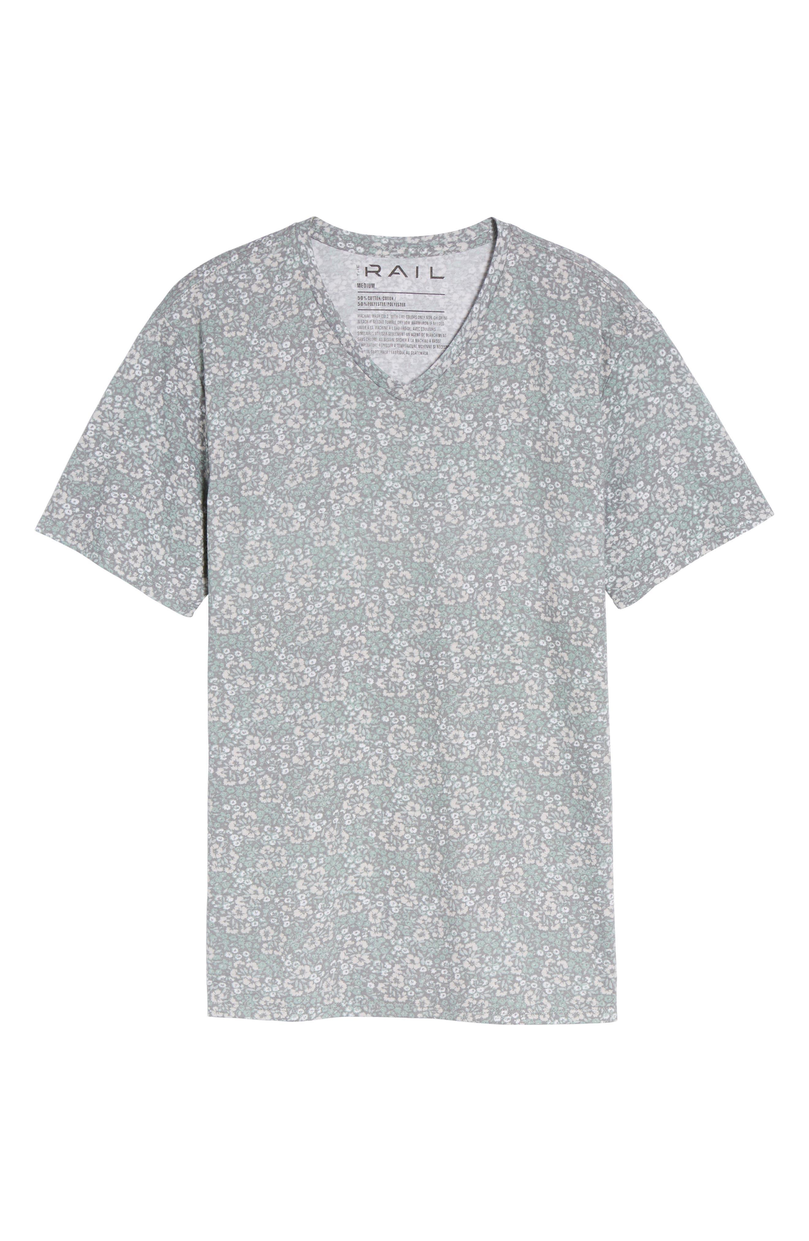 V-Neck T-Shirt,                             Alternate thumbnail 38, color,