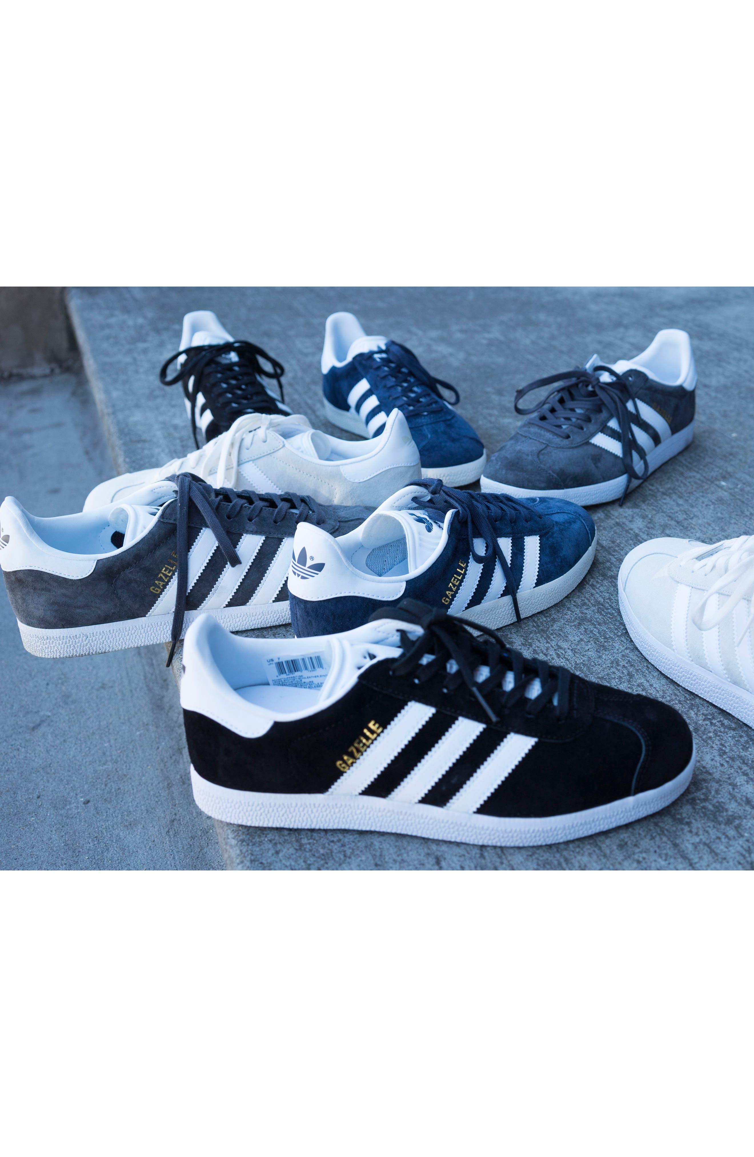 Gazelle Sneaker,                             Alternate thumbnail 7, color,                             001