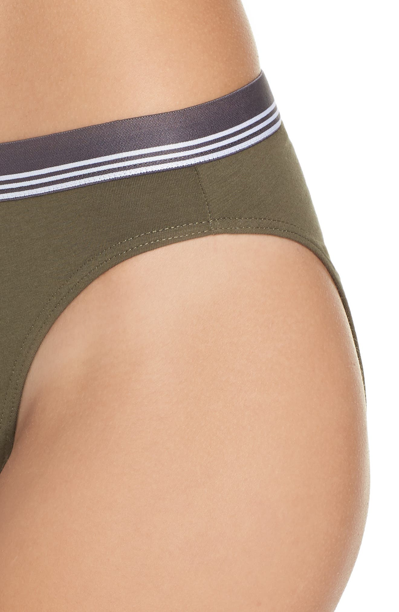 Sporty High Cut Briefs,                             Alternate thumbnail 4, color,                             311