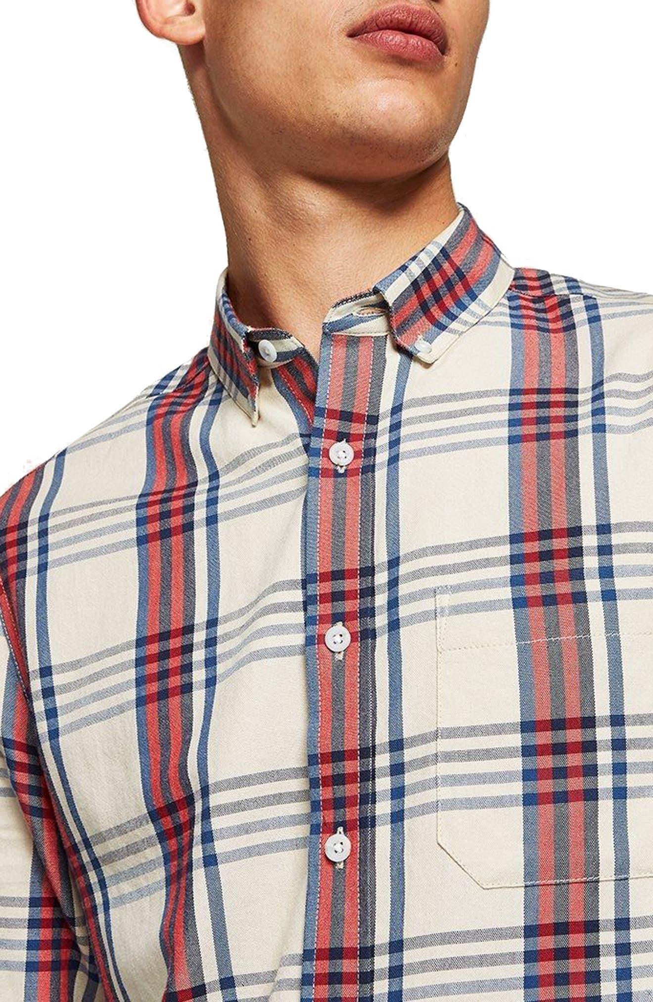 Check Shirt,                         Main,                         color, 250
