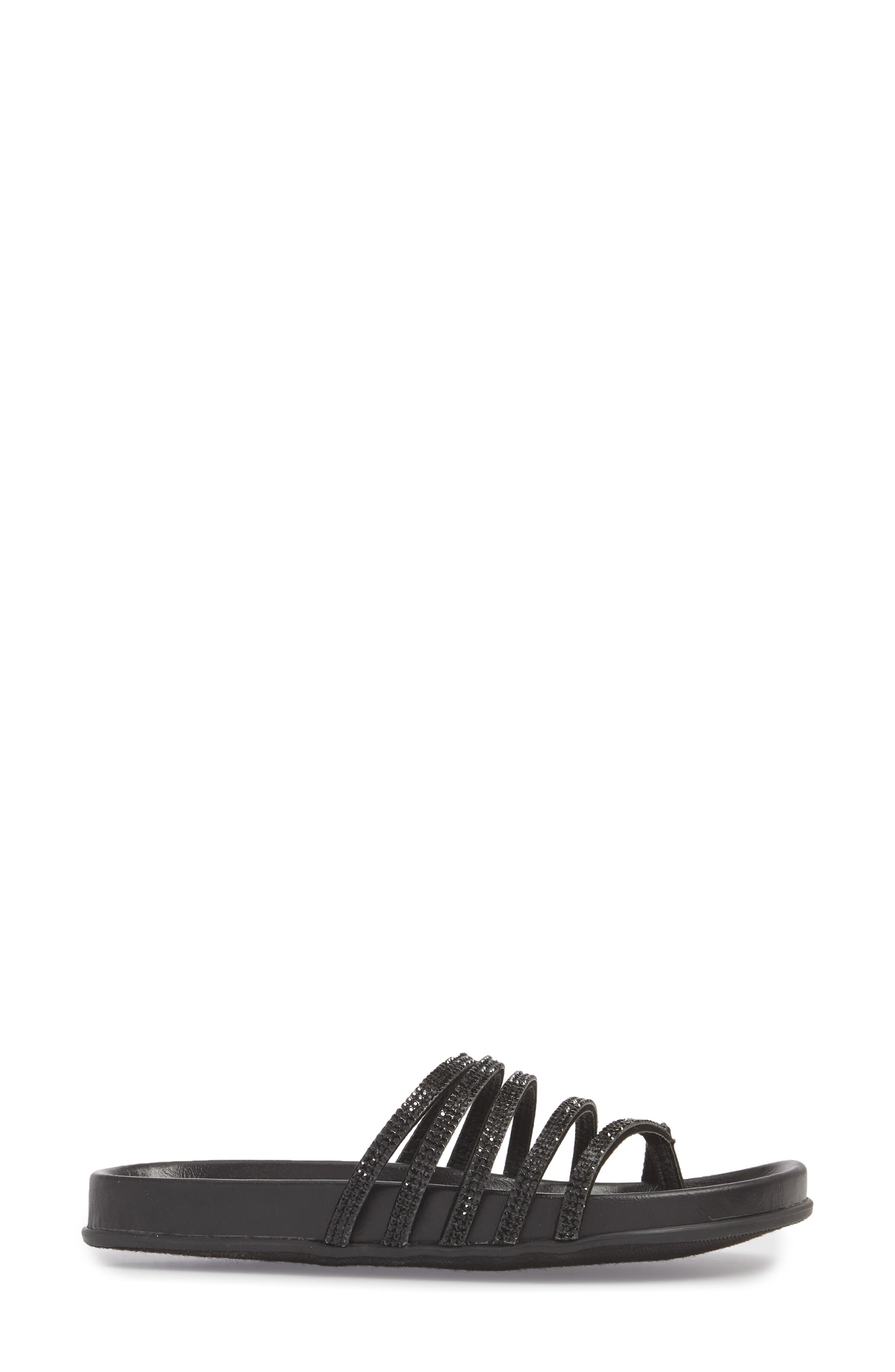 Kendari Sandal,                             Alternate thumbnail 3, color,                             BLACK