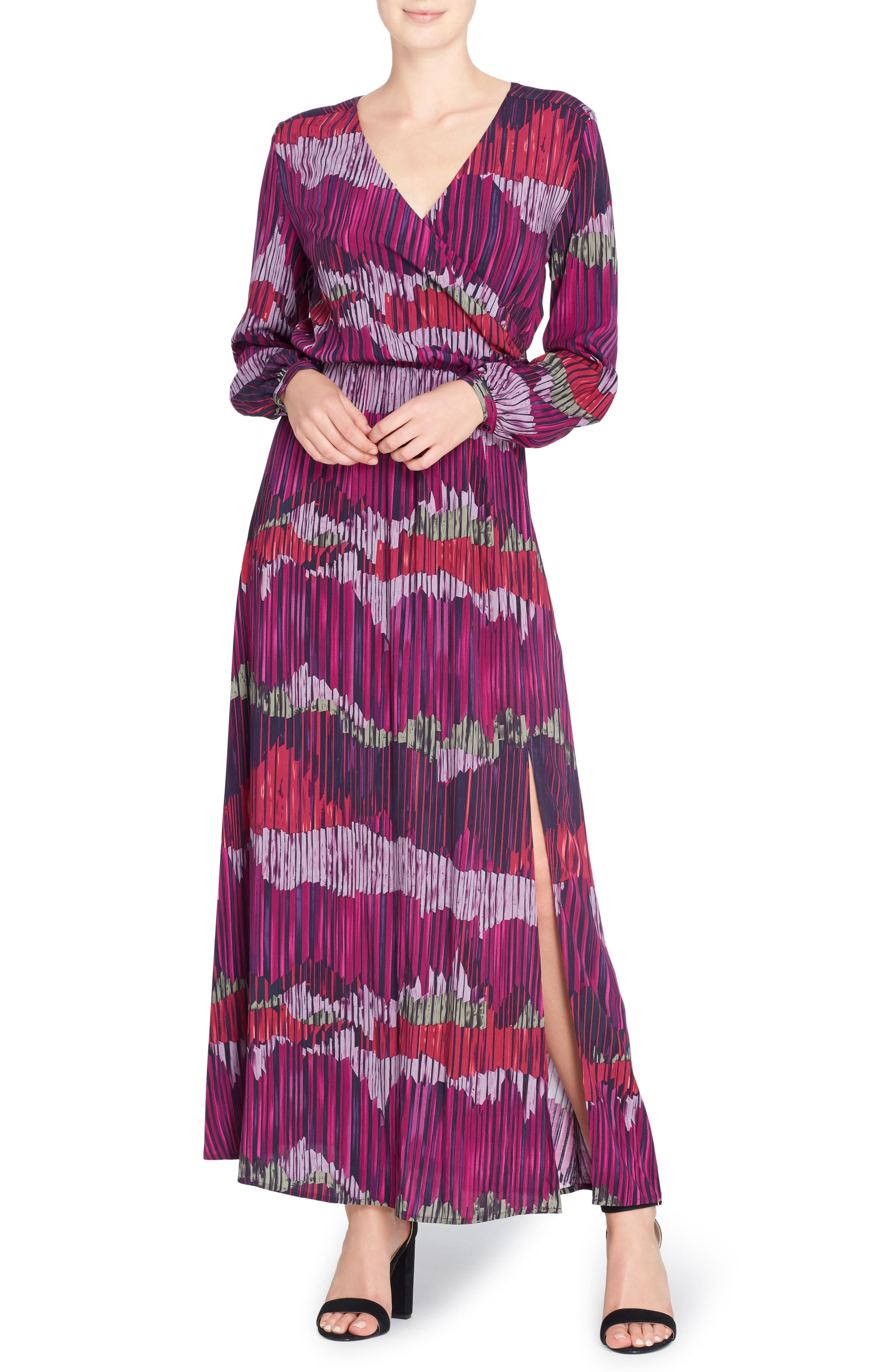 June Print Maxi Dress,                             Main thumbnail 1, color,                             591