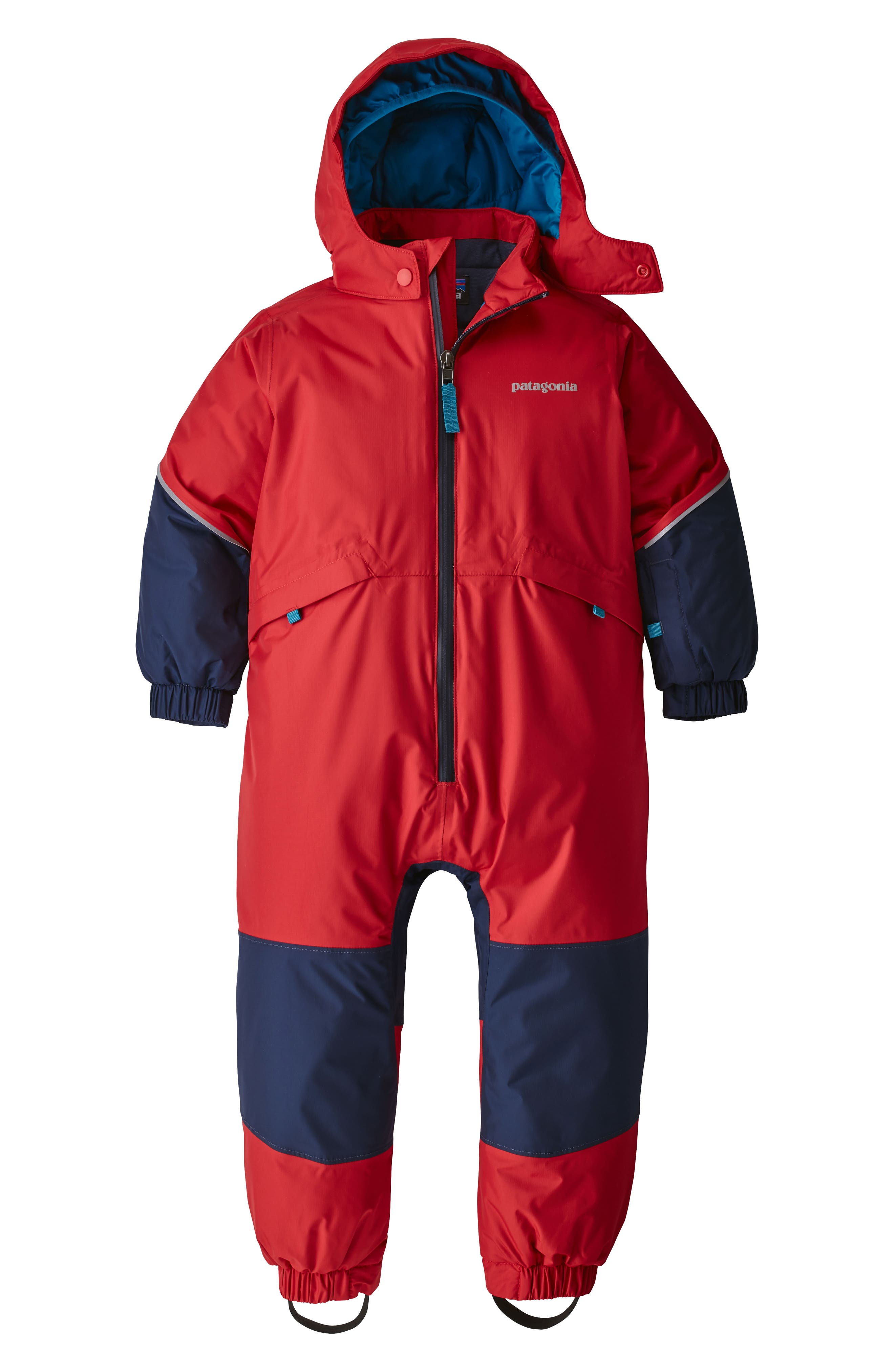 Toddler Boys Patagonia Snow Pile Waterproof Insulated OnePiece Snowsuit Size 5T  Red