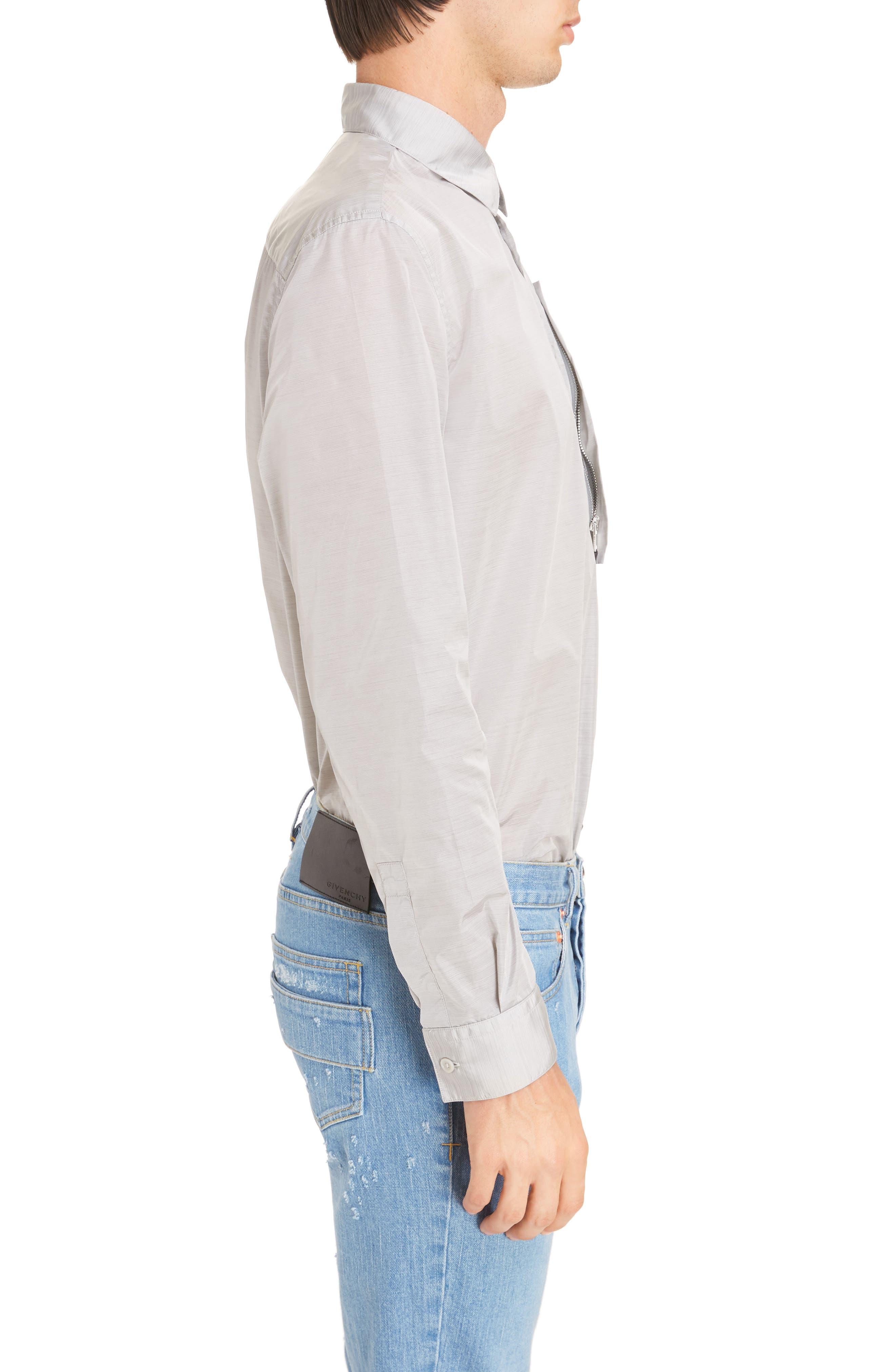 Nylon Woven Shirt,                             Alternate thumbnail 3, color,                             055