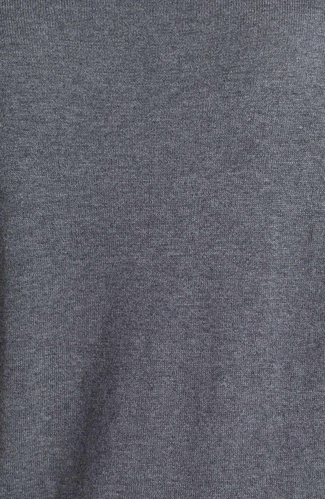 Intarsia Crewneck Sweater,                             Alternate thumbnail 8, color,