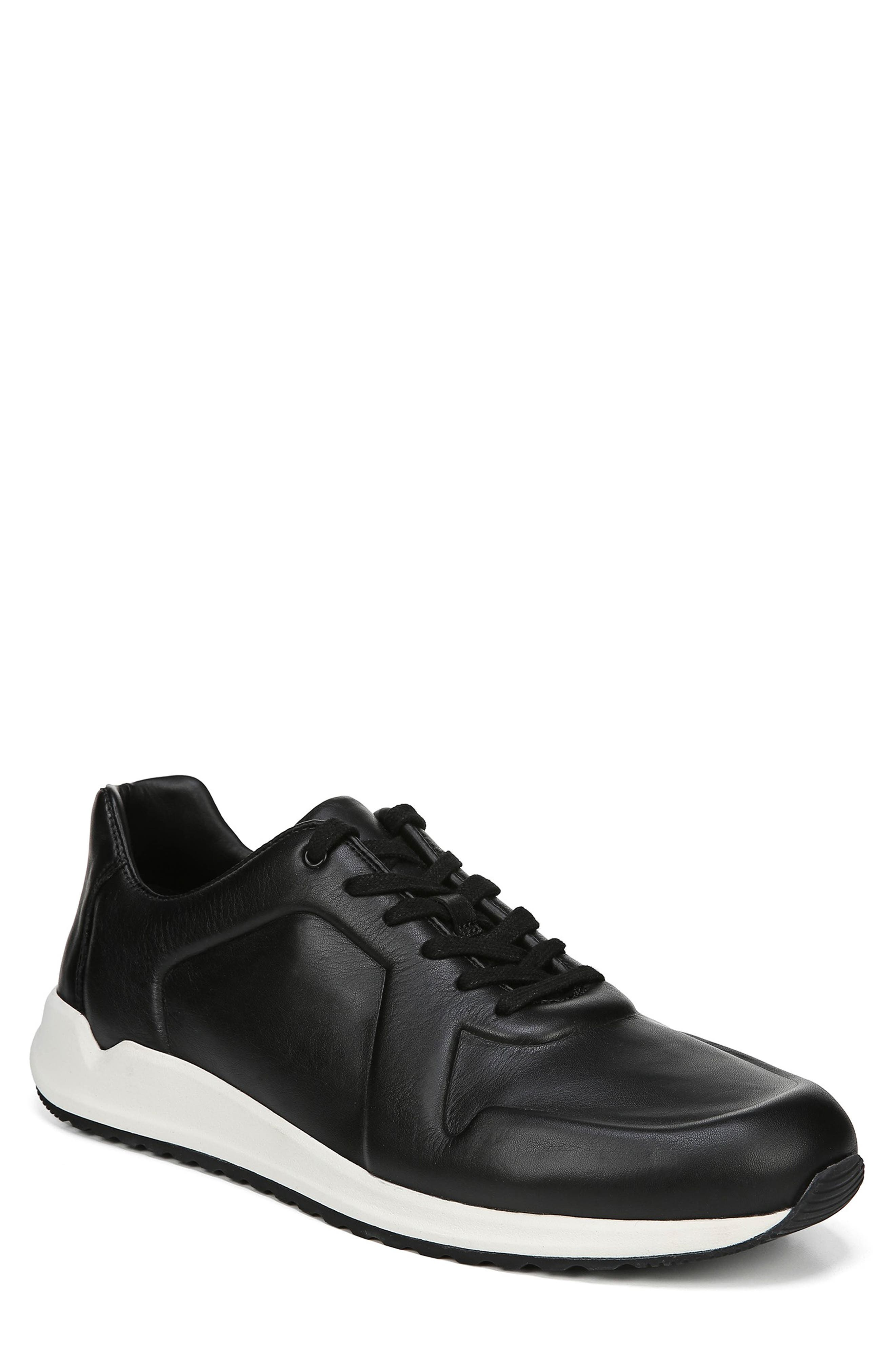 Garrett Sneaker,                         Main,                         color, BLACK/ BLACK