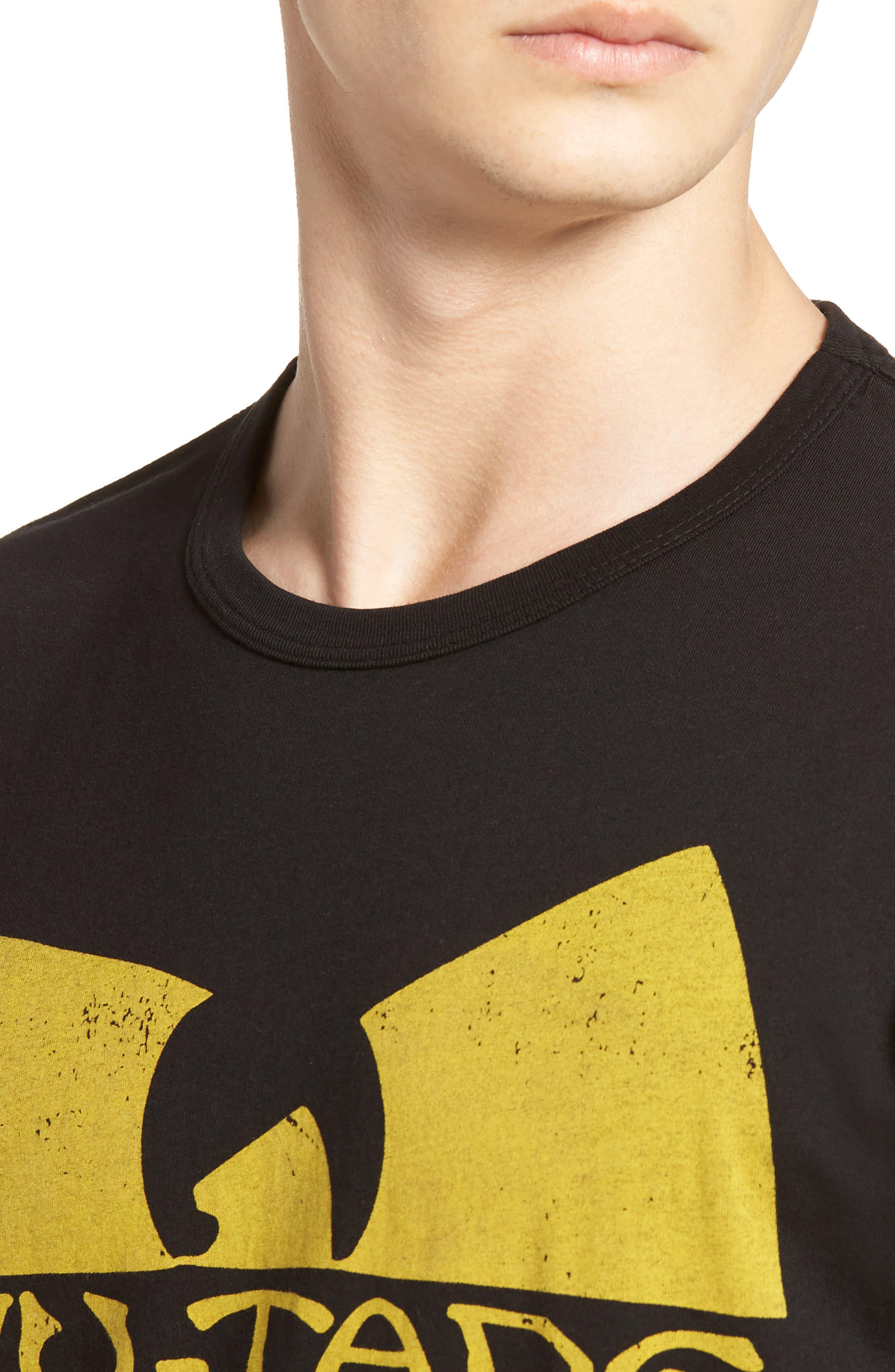 Wu-Tang Graphic T-Shirt,                             Alternate thumbnail 4, color,                             001