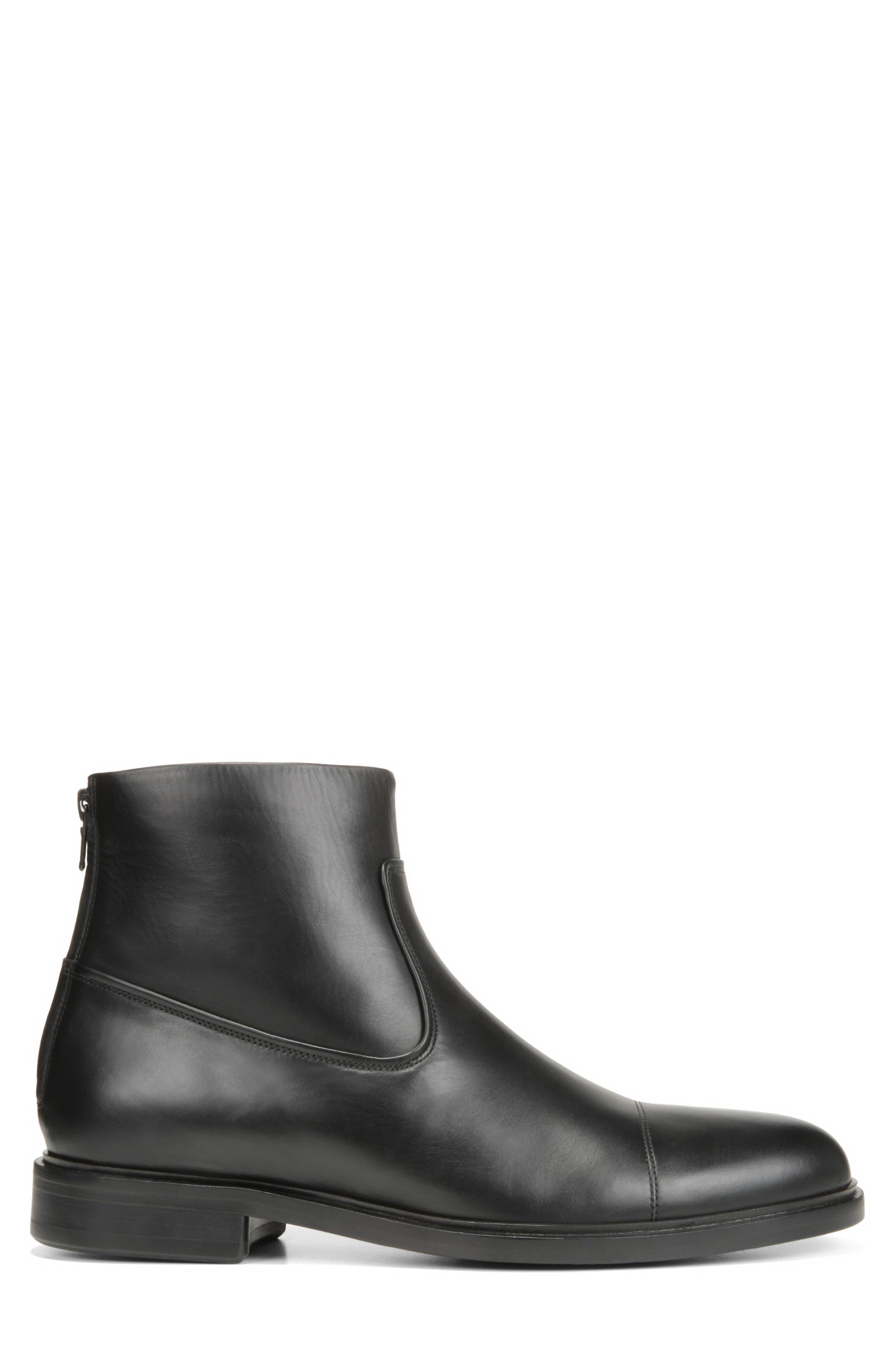 Beckett Zip Boot,                             Alternate thumbnail 3, color,                             BLACK