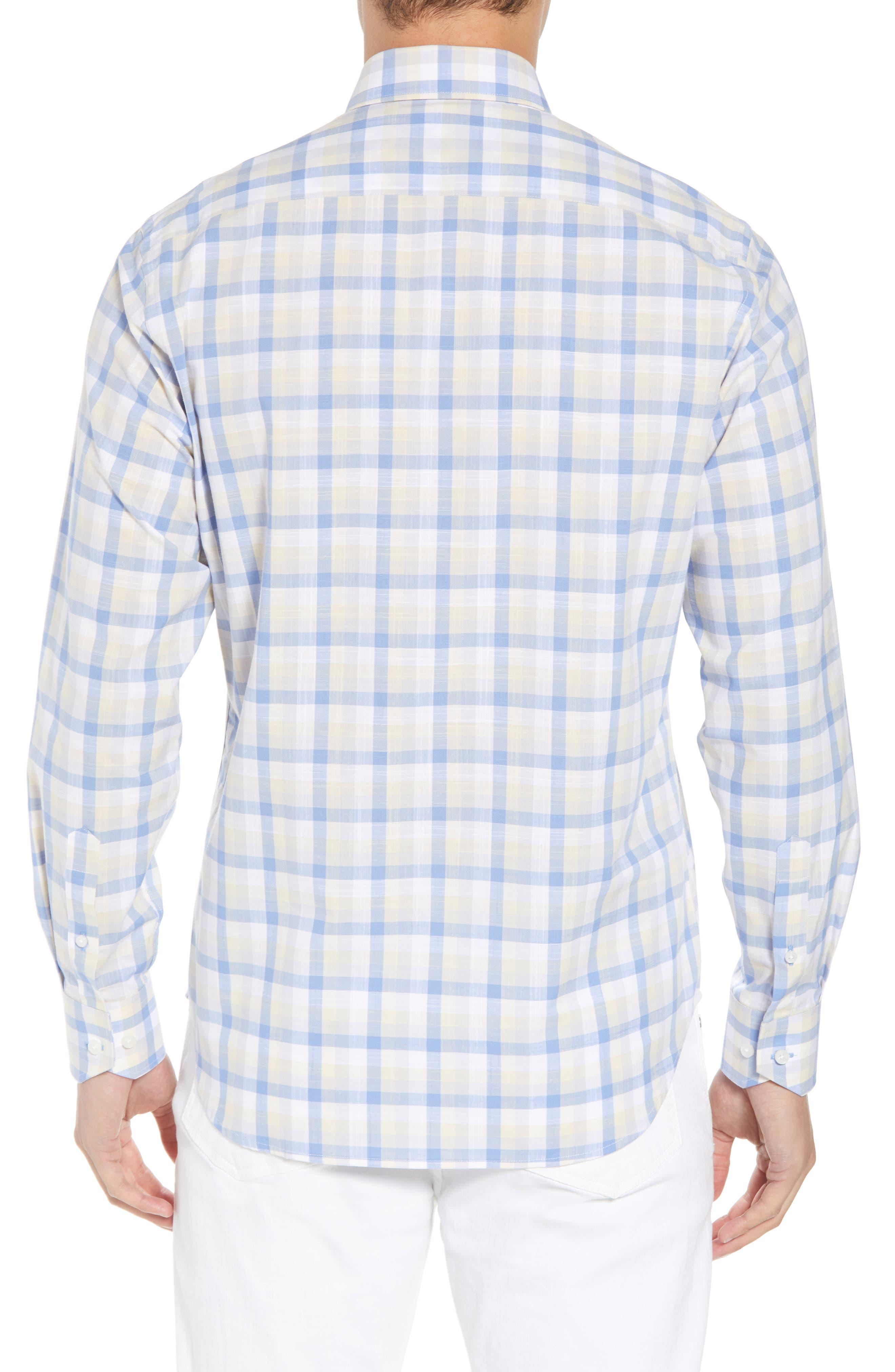Hobbes Regular Fit Check Sport Shirt,                             Alternate thumbnail 2, color,                             450