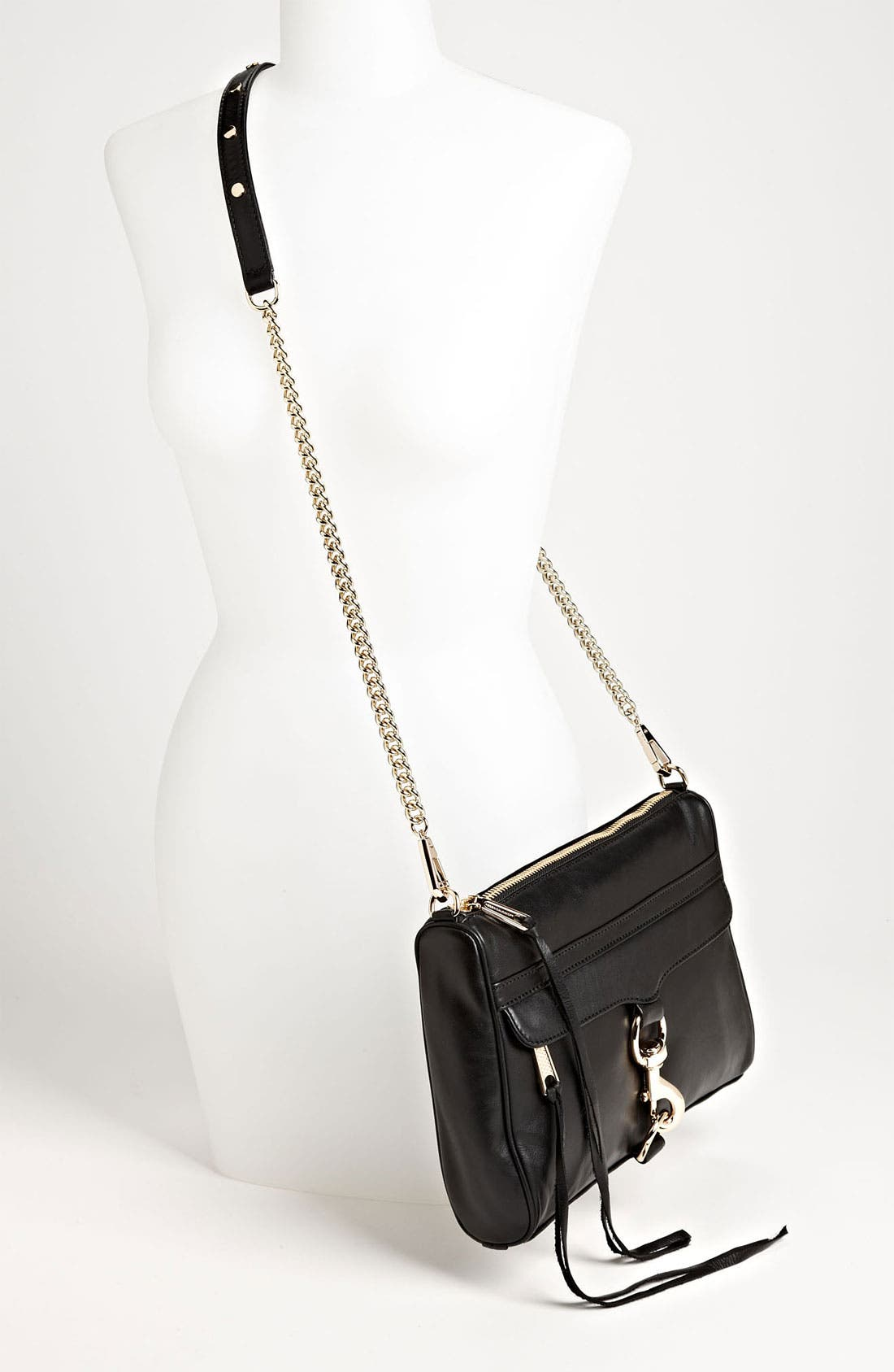 'MAC' Convertible Crossbody Bag,                             Alternate thumbnail 3, color,                             001